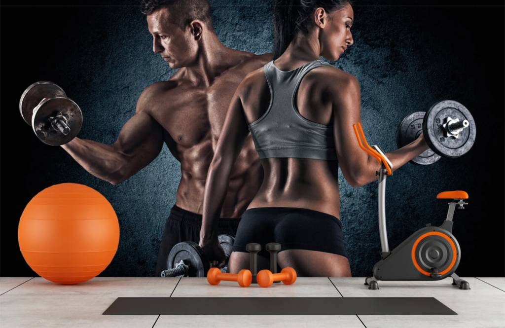 Fitness - Muscular people - Hobby room 1
