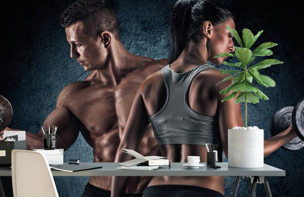 Fitness - Muscular people - Hobby room 2