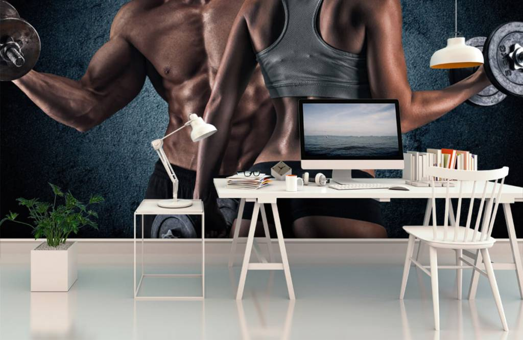 Fitness - Muscular people - Hobby room 3