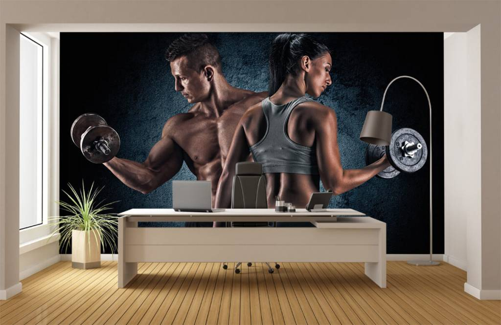 Fitness - Muscular people - Hobby room 4