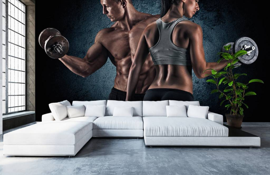 Fitness - Muscular people - Hobby room 6