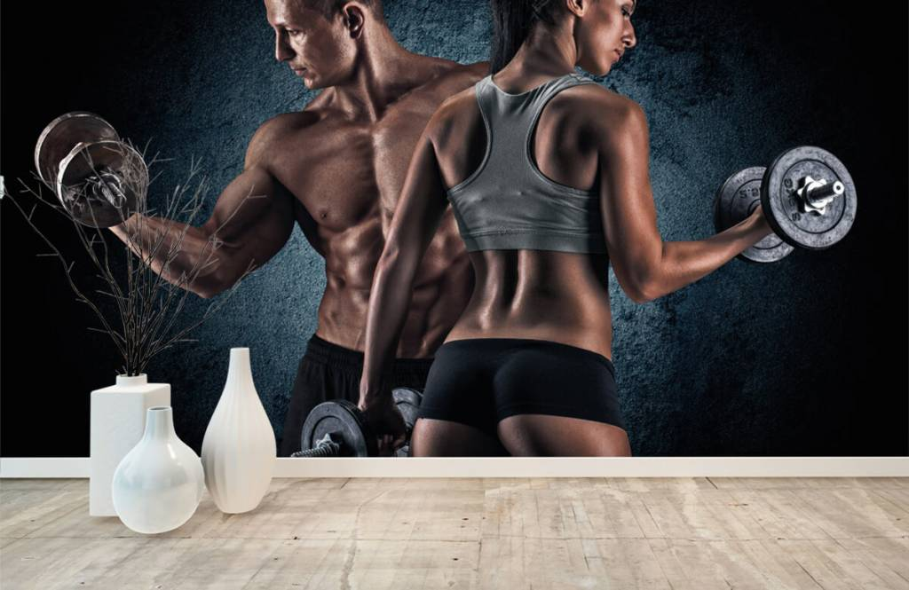 Fitness - Muscular people - Hobby room 8