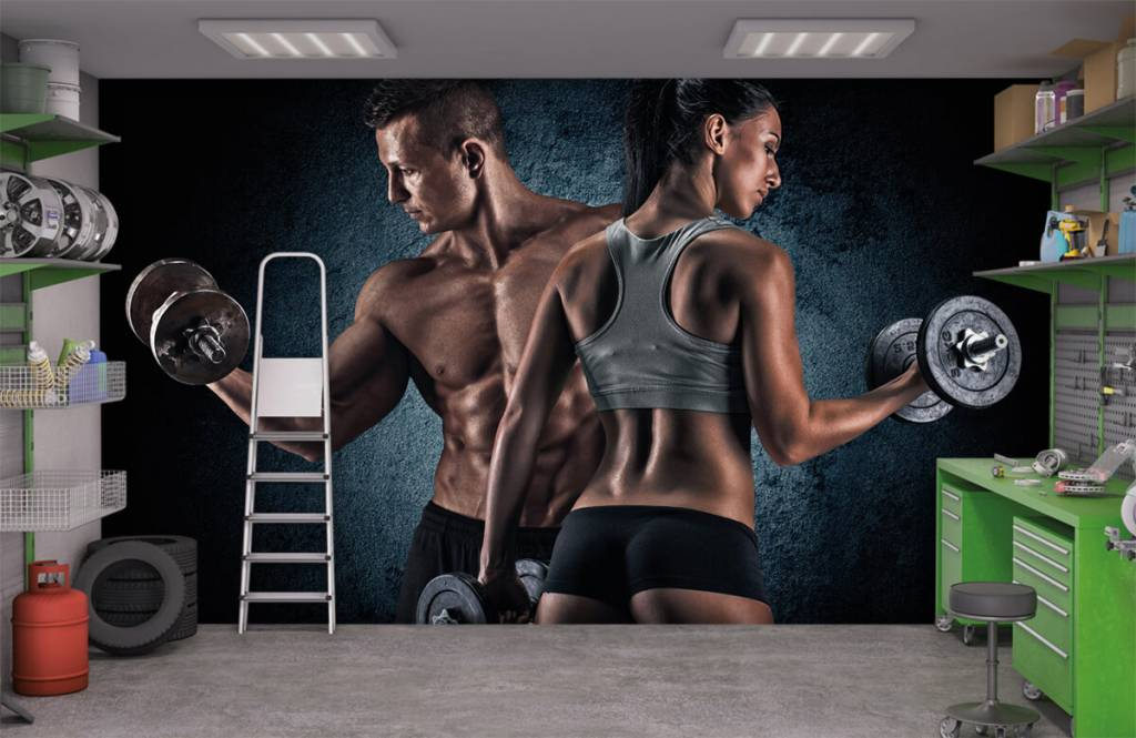 Fitness - Muscular people - Hobby room 9