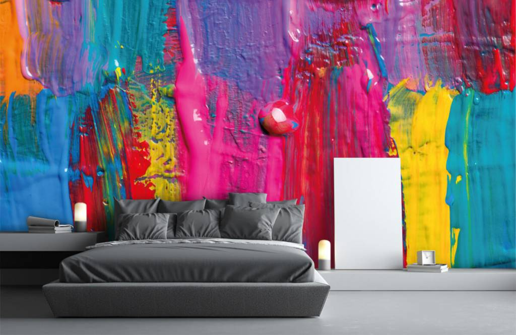 Modern - Colored paint - Conference room 4