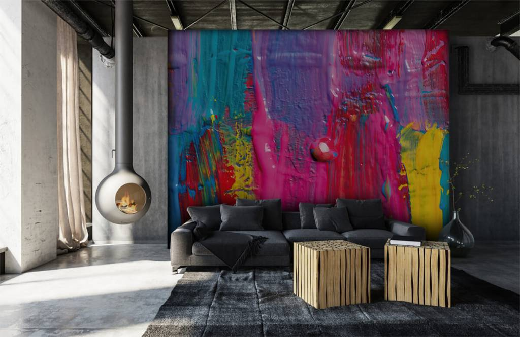 Modern - Colored paint - Conference room 7