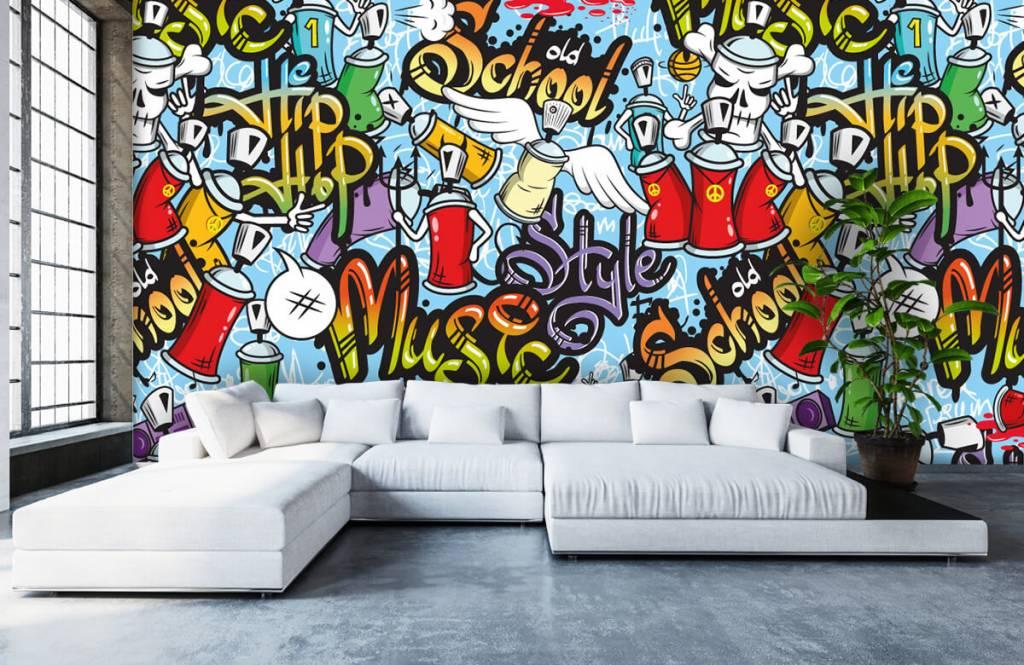 Children's wallpaper - Different music styles - Children's room 5