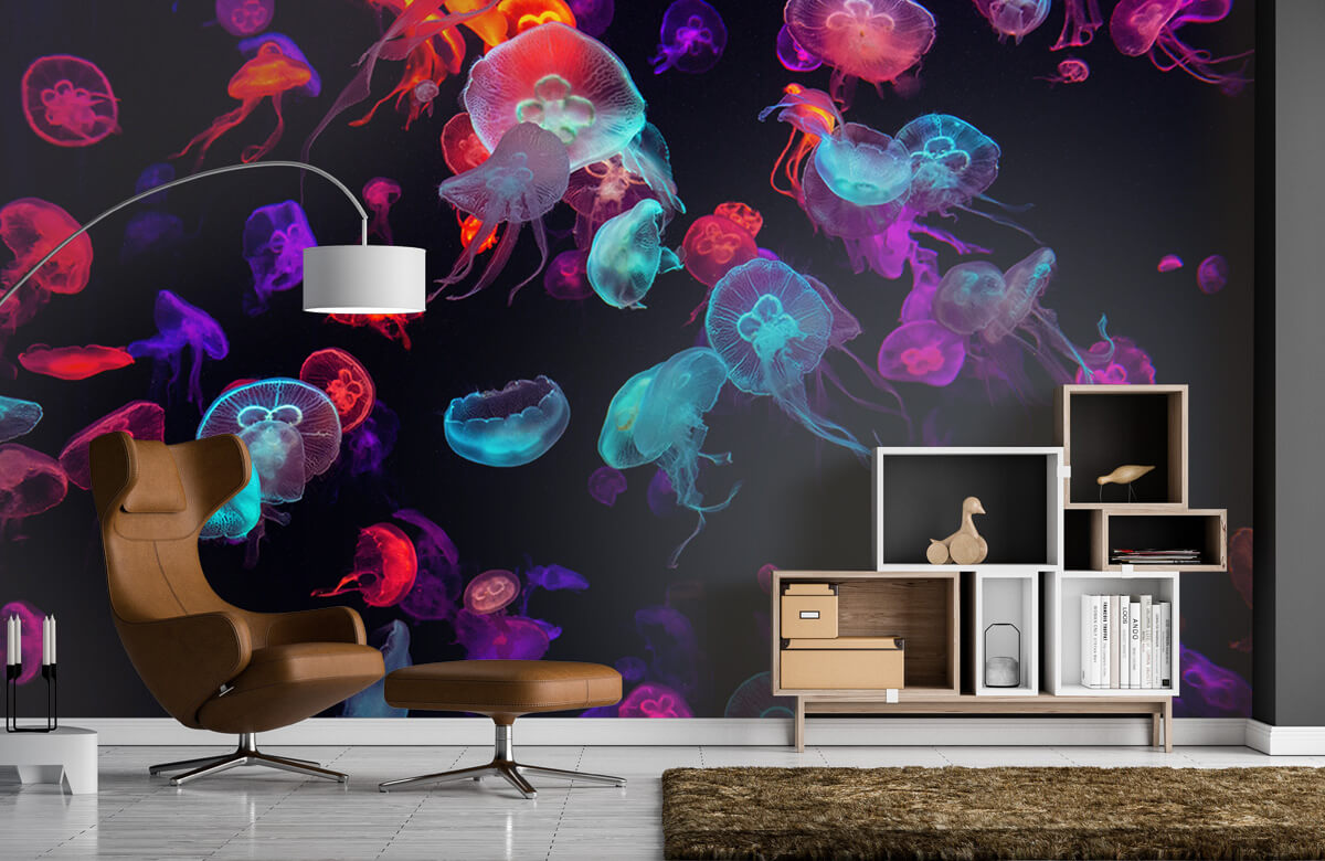Animals Coloured jellyfish 5