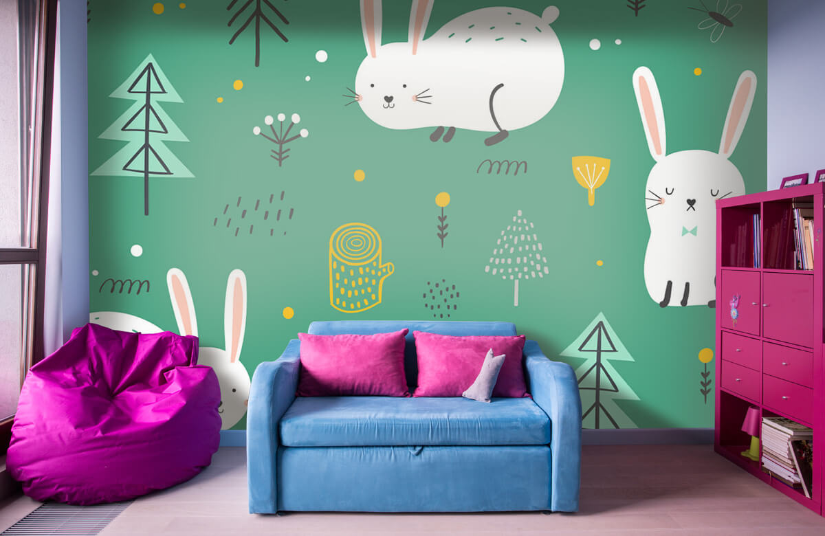 Pattern Pattern of bunnies 1