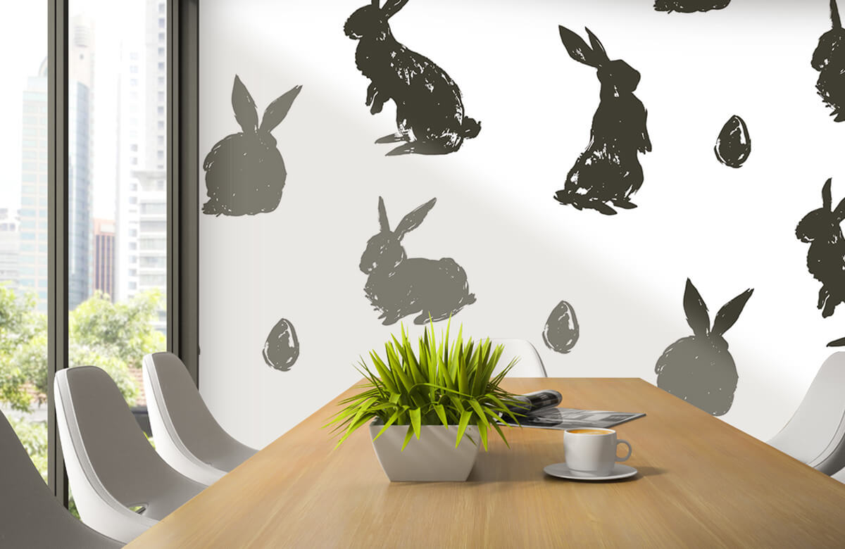Pattern Easter Bunny 4