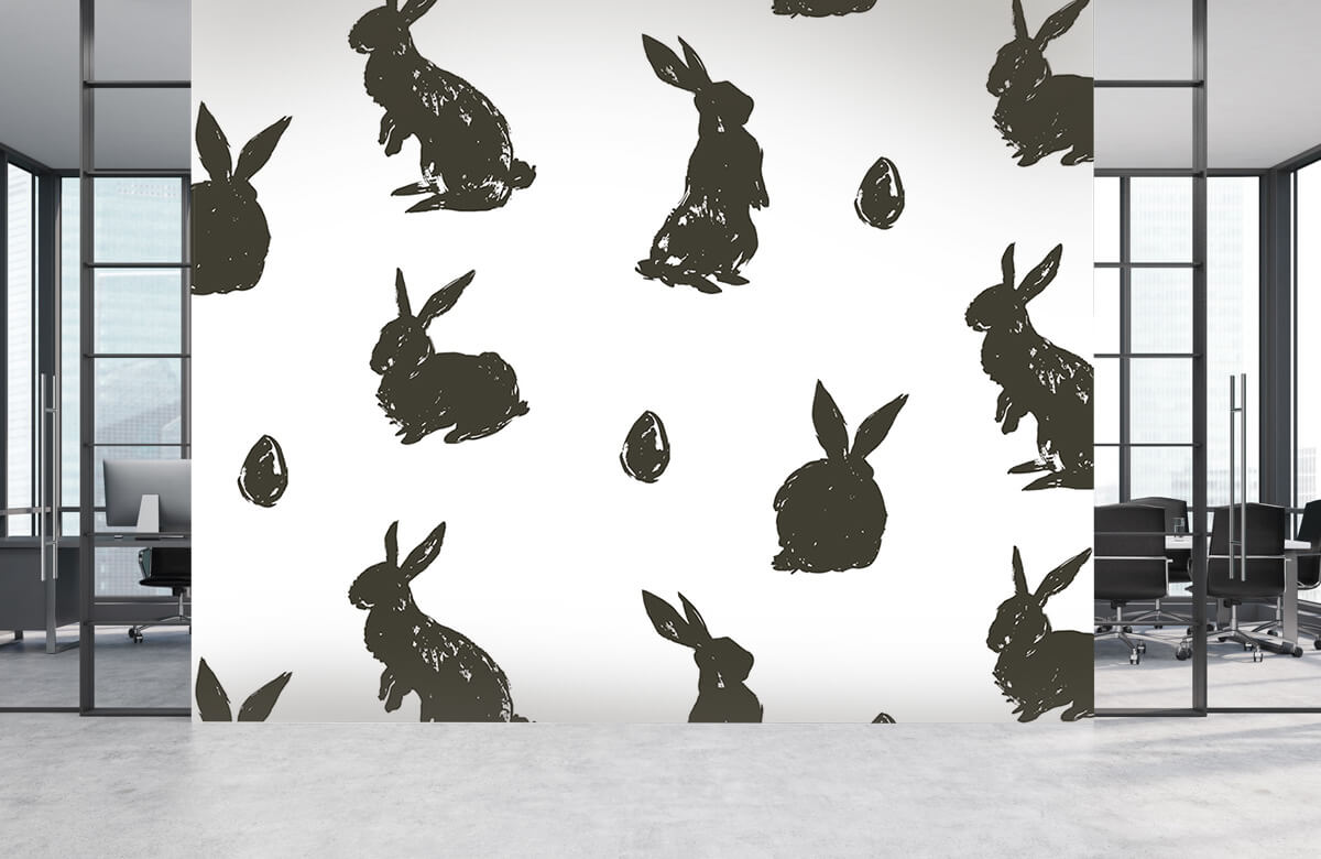 Pattern Easter Bunny 7