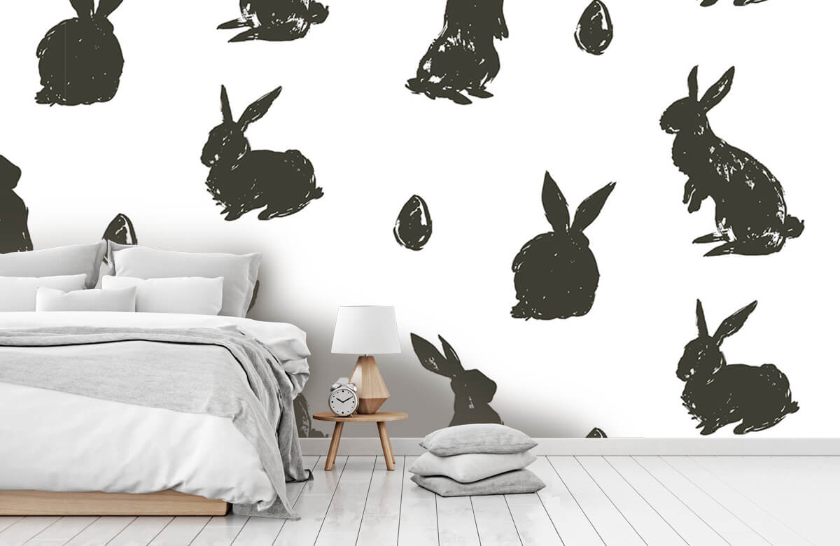 Pattern Easter Bunny 9