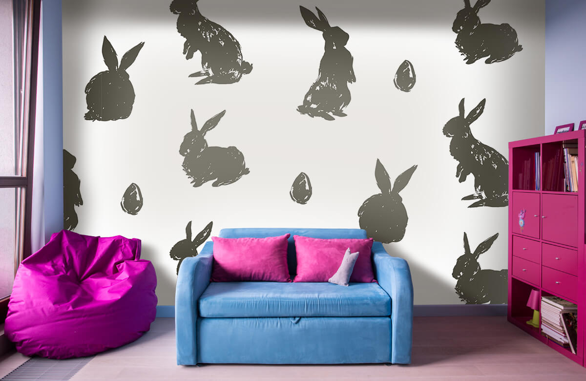 Pattern Easter Bunny 1