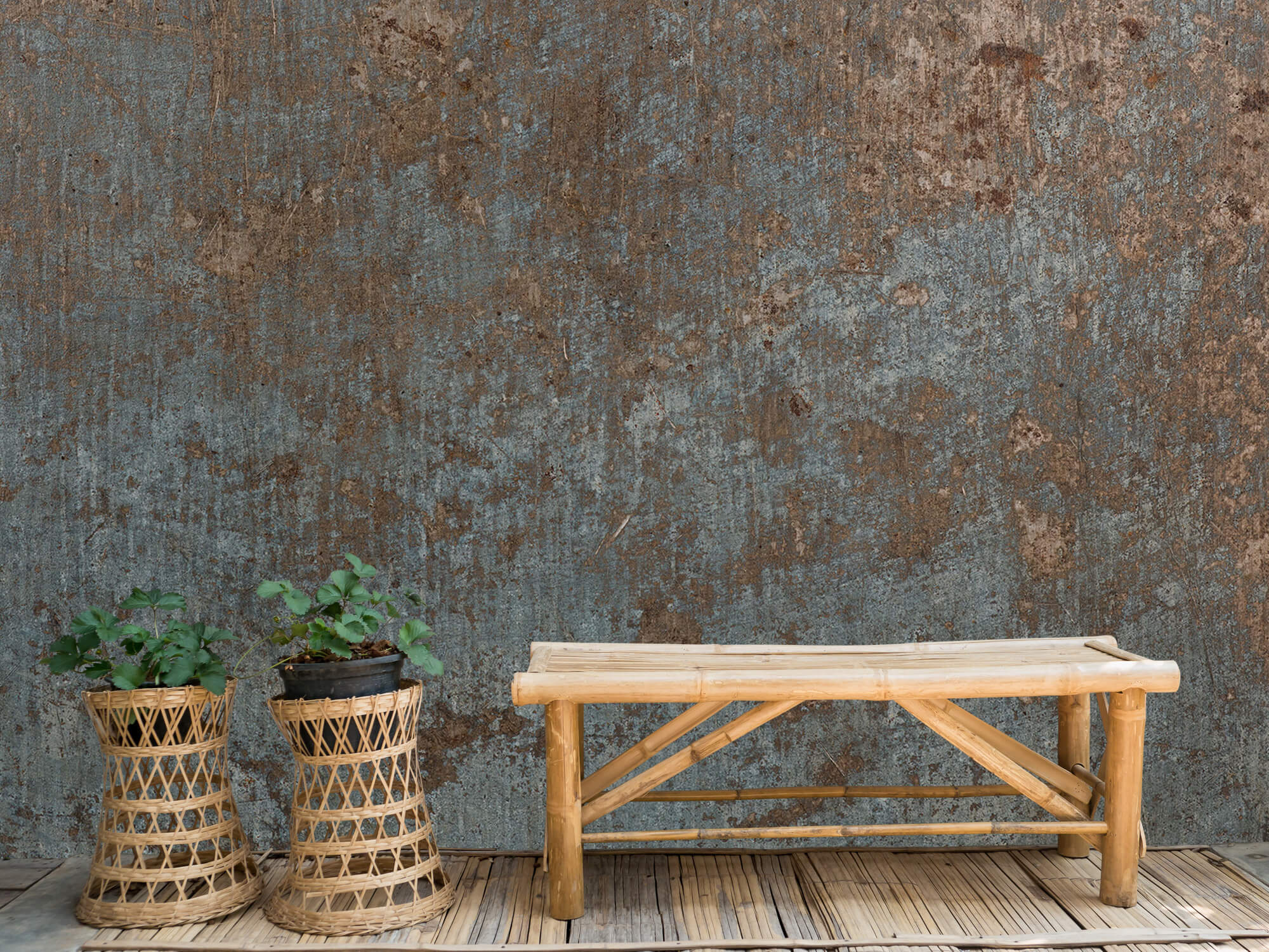 Textures Copper colour structure 11