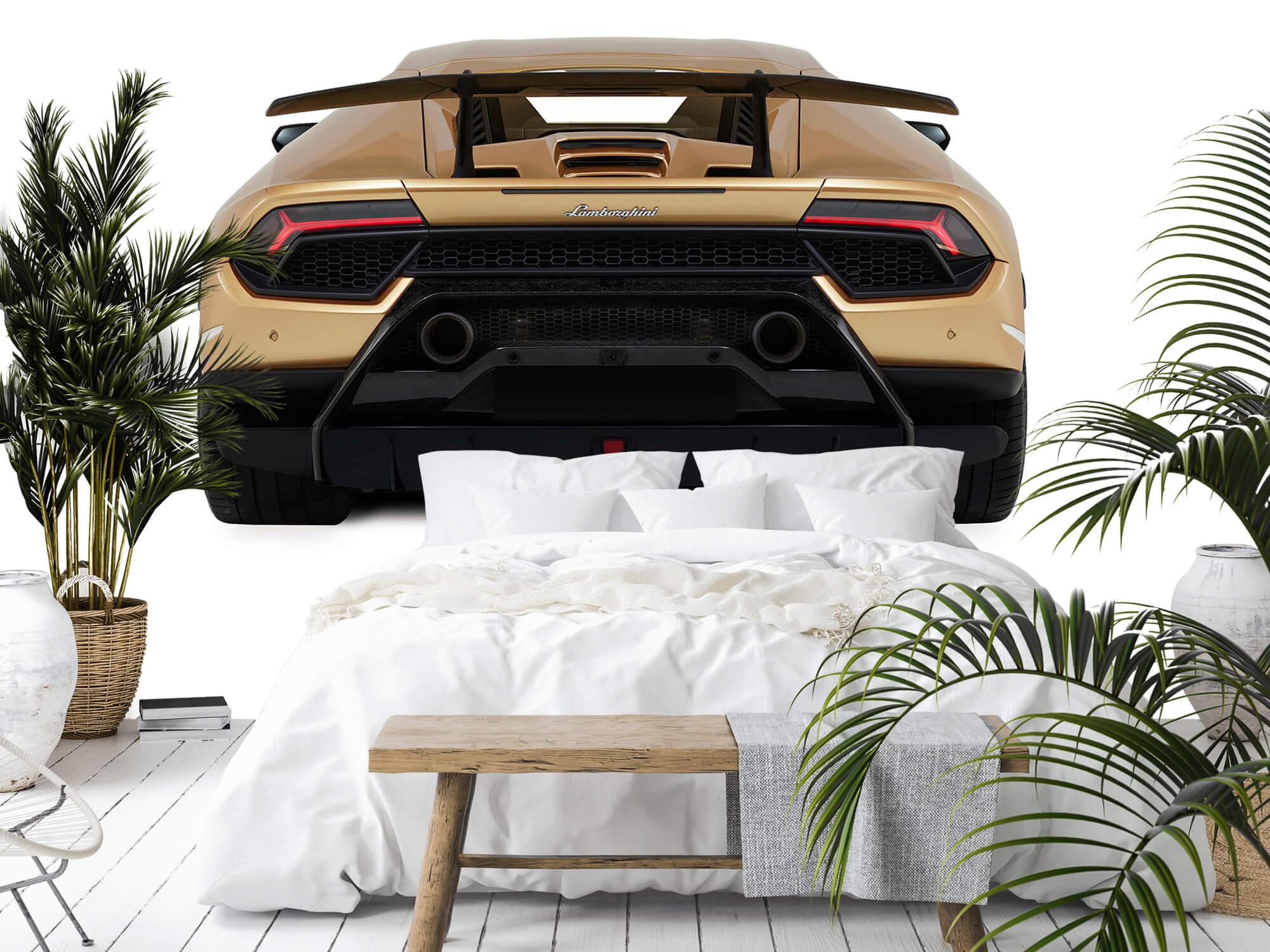 Wallpaper Lamborghini Huracán - Rear view, white 12