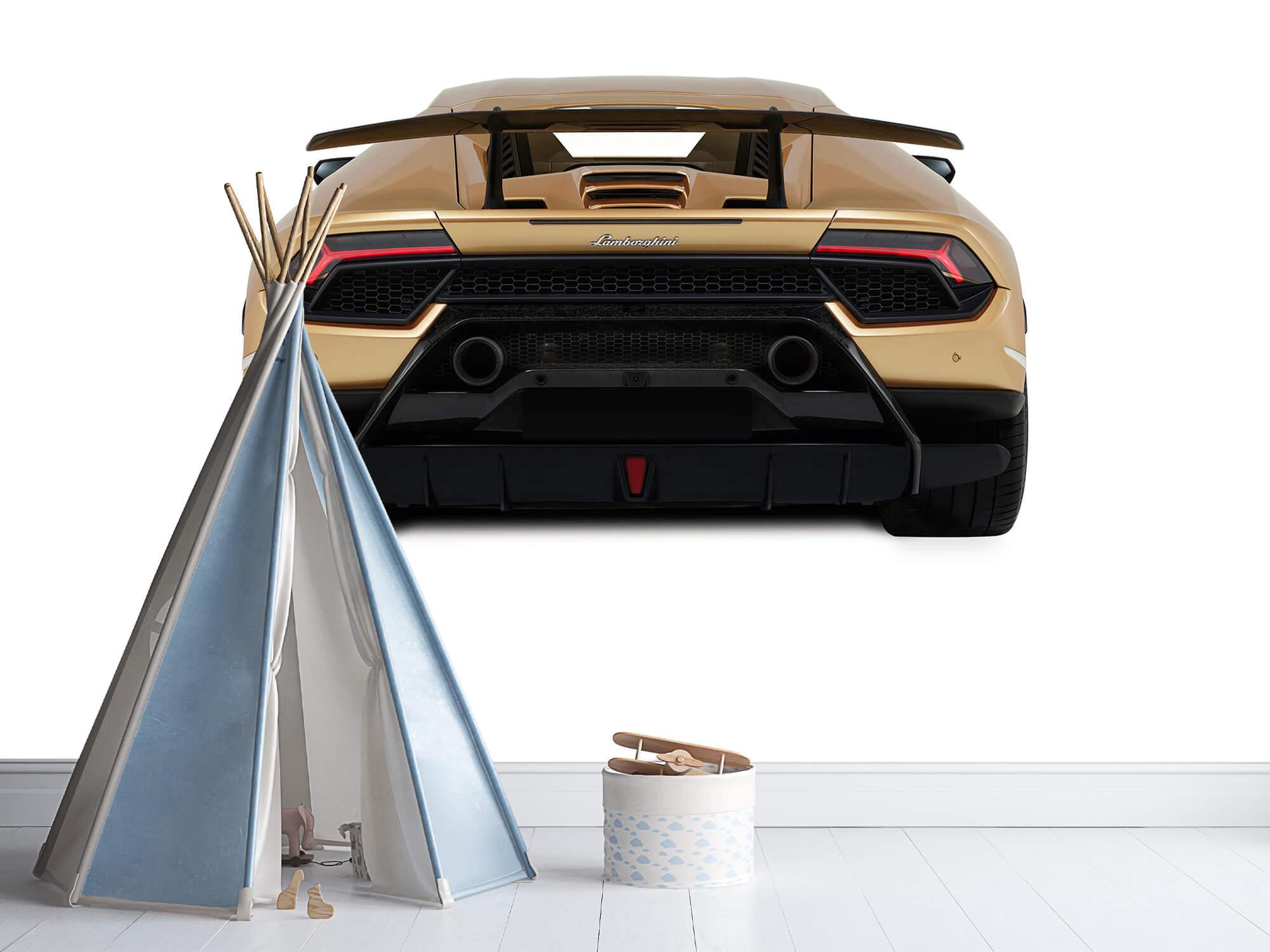 Wallpaper Lamborghini Huracán - Rear view, white 11