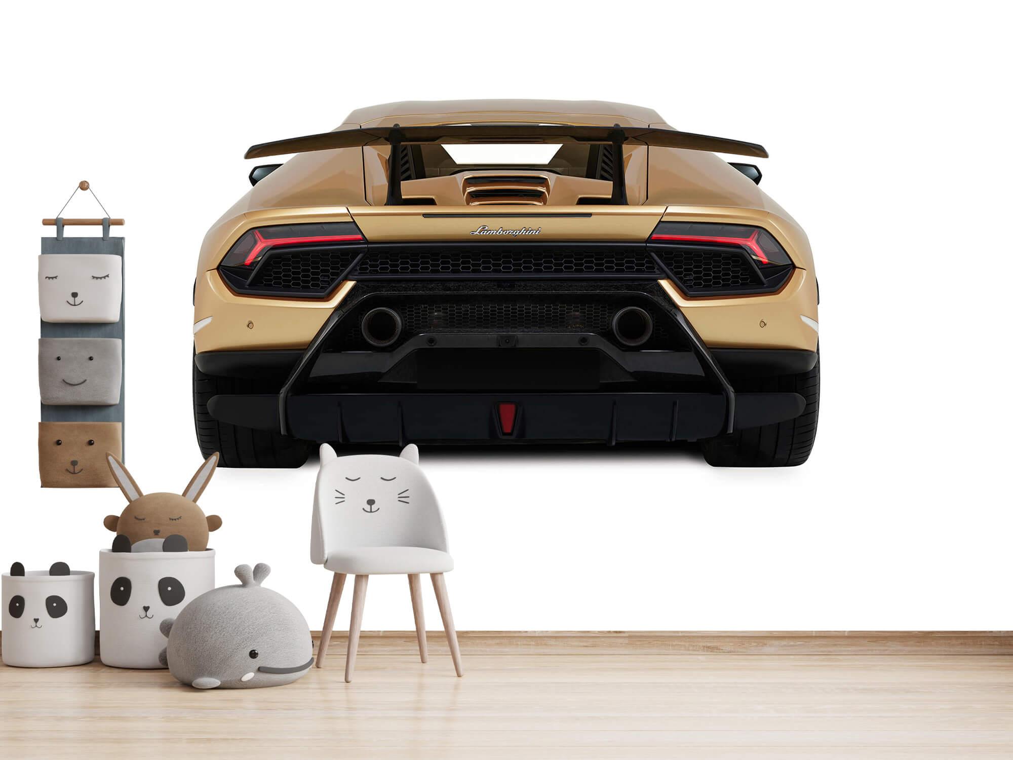 Wallpaper Lamborghini Huracán - Rear view, white 13