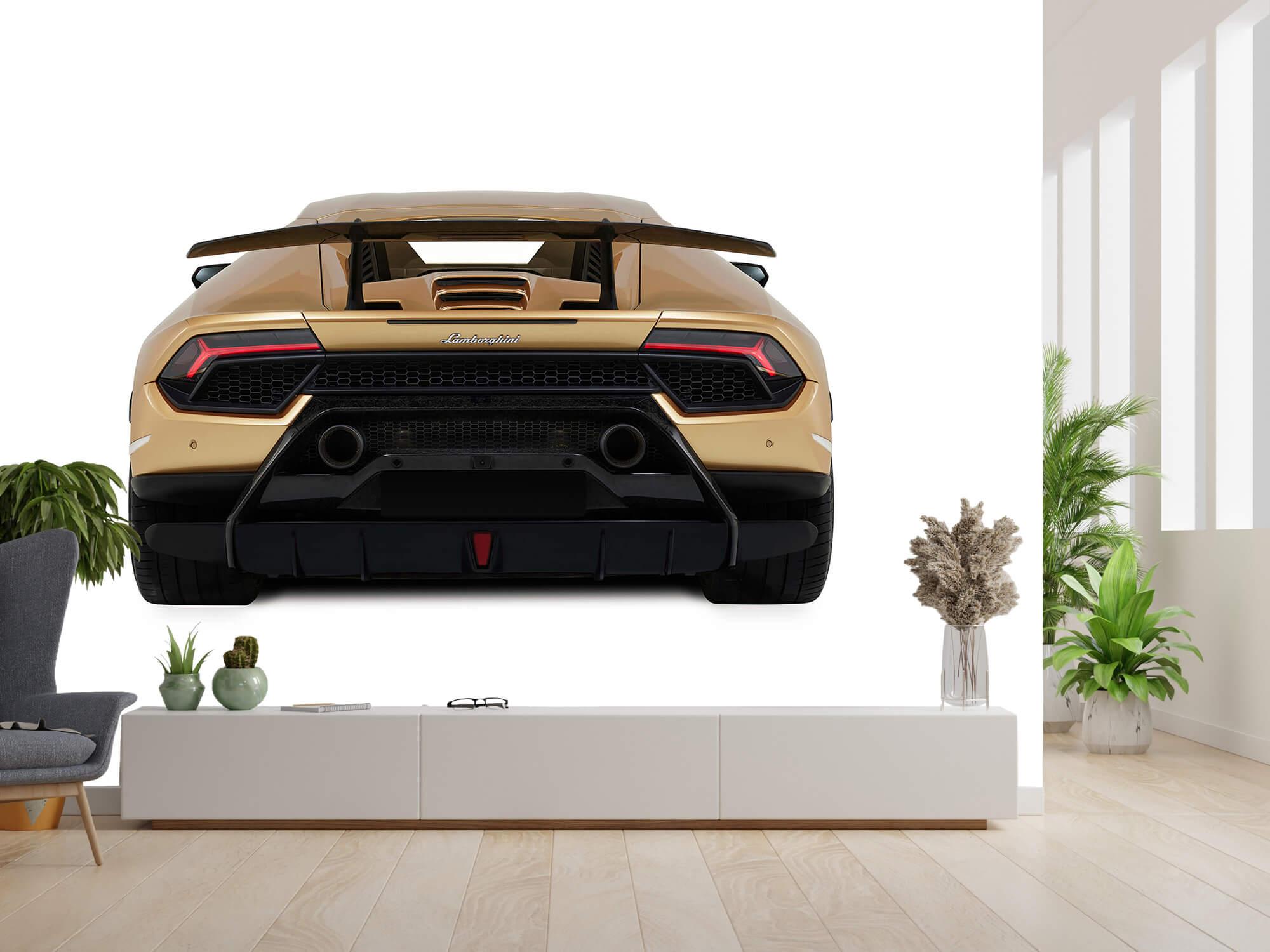 Wallpaper Lamborghini Huracán - Rear view, white 14