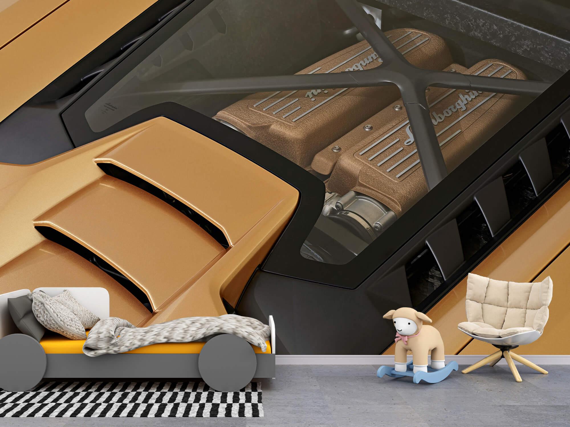 Wallpaper Lamborghini Huracán - Engine 3