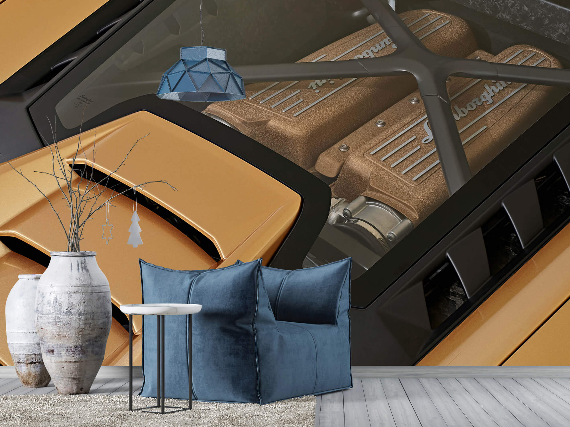 Wallpaper Lamborghini Huracán - Engine 12