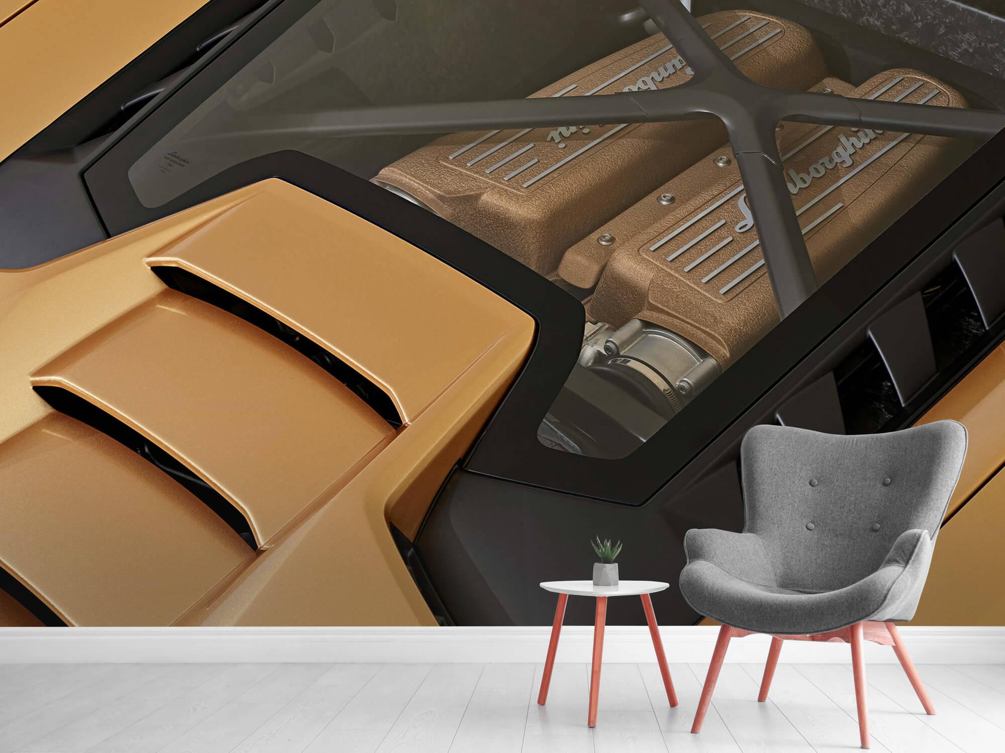 Wallpaper Lamborghini Huracán - Engine 13