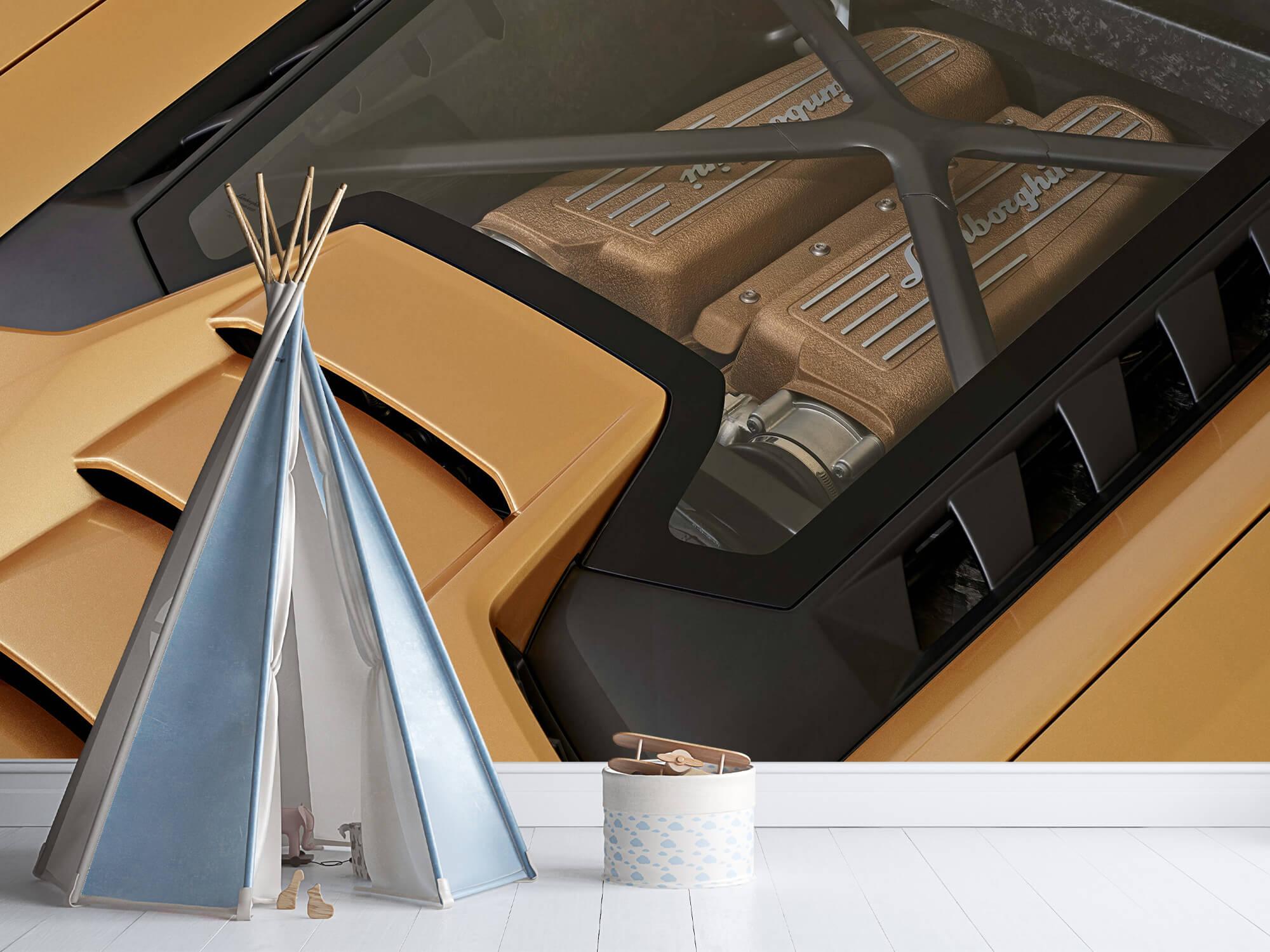 Wallpaper Lamborghini Huracán - Engine 10