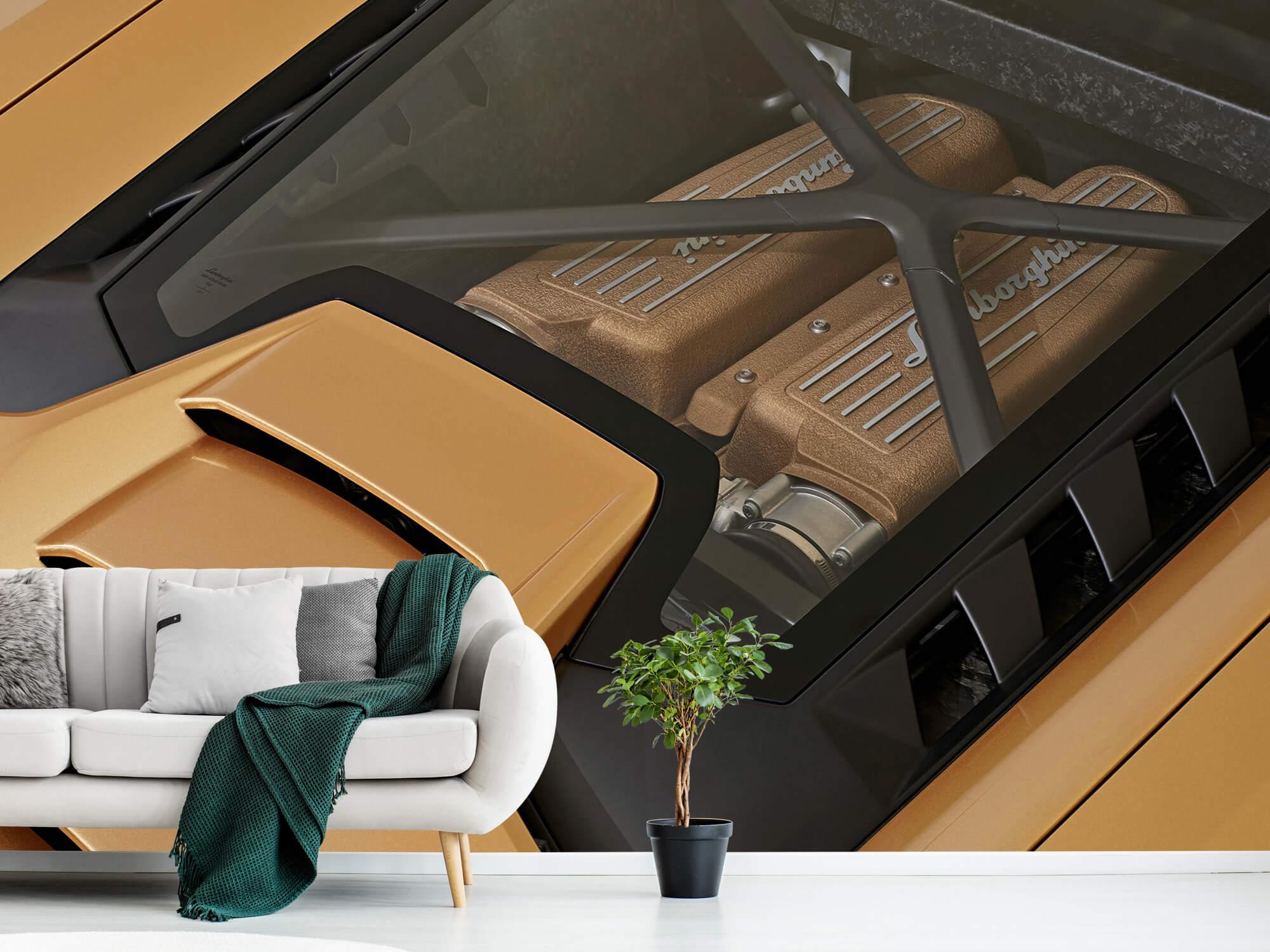 Wallpaper Lamborghini Huracán - Engine 1
