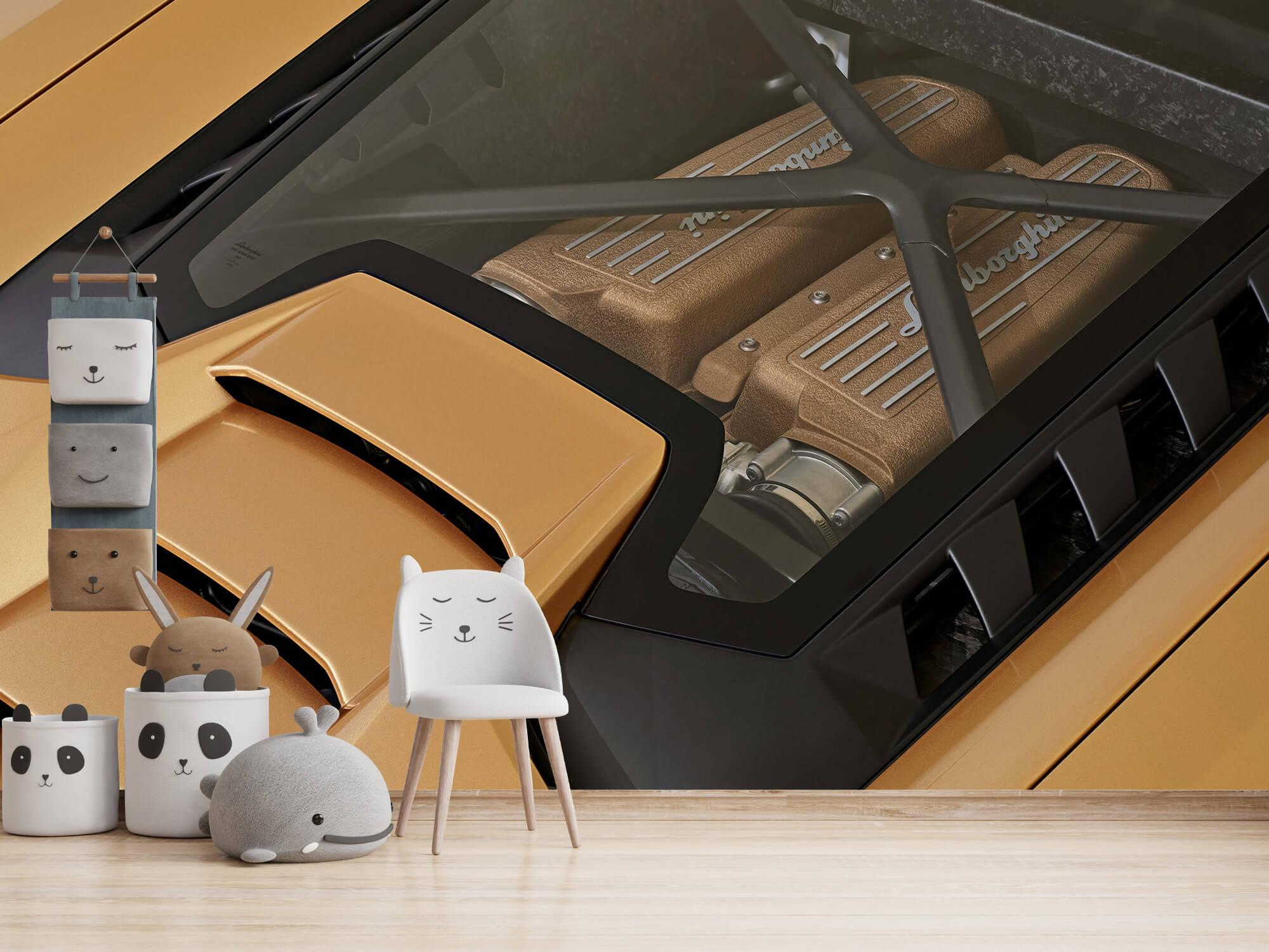 Wallpaper Lamborghini Huracán - Engine 15