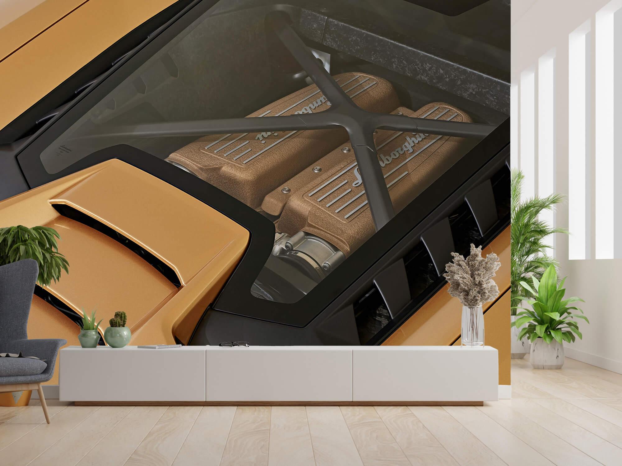 Wallpaper Lamborghini Huracán - Engine 11