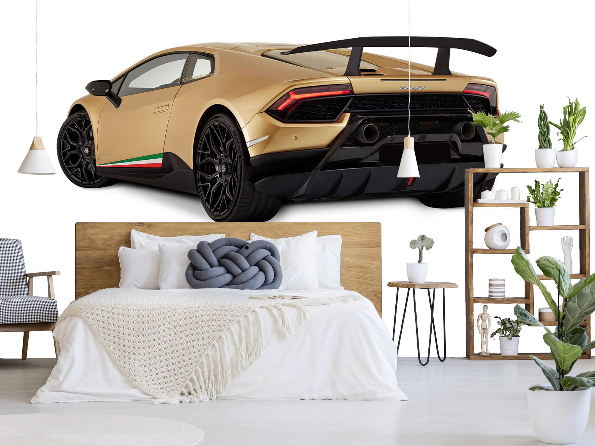 Wallpaper Lamborghini Huracán - Left Rear Side, white 7