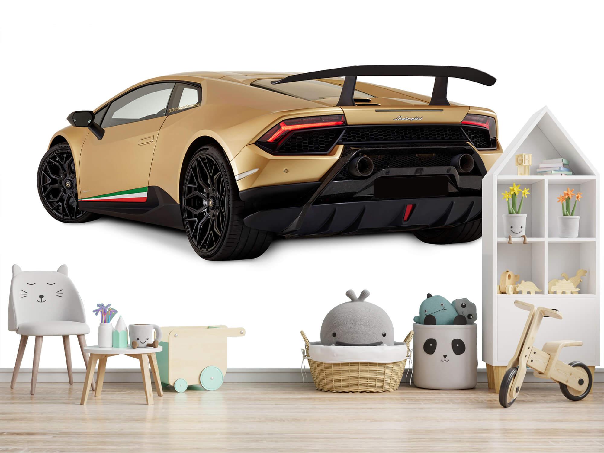 Wallpaper Lamborghini Huracán - Left Rear Side, white 8