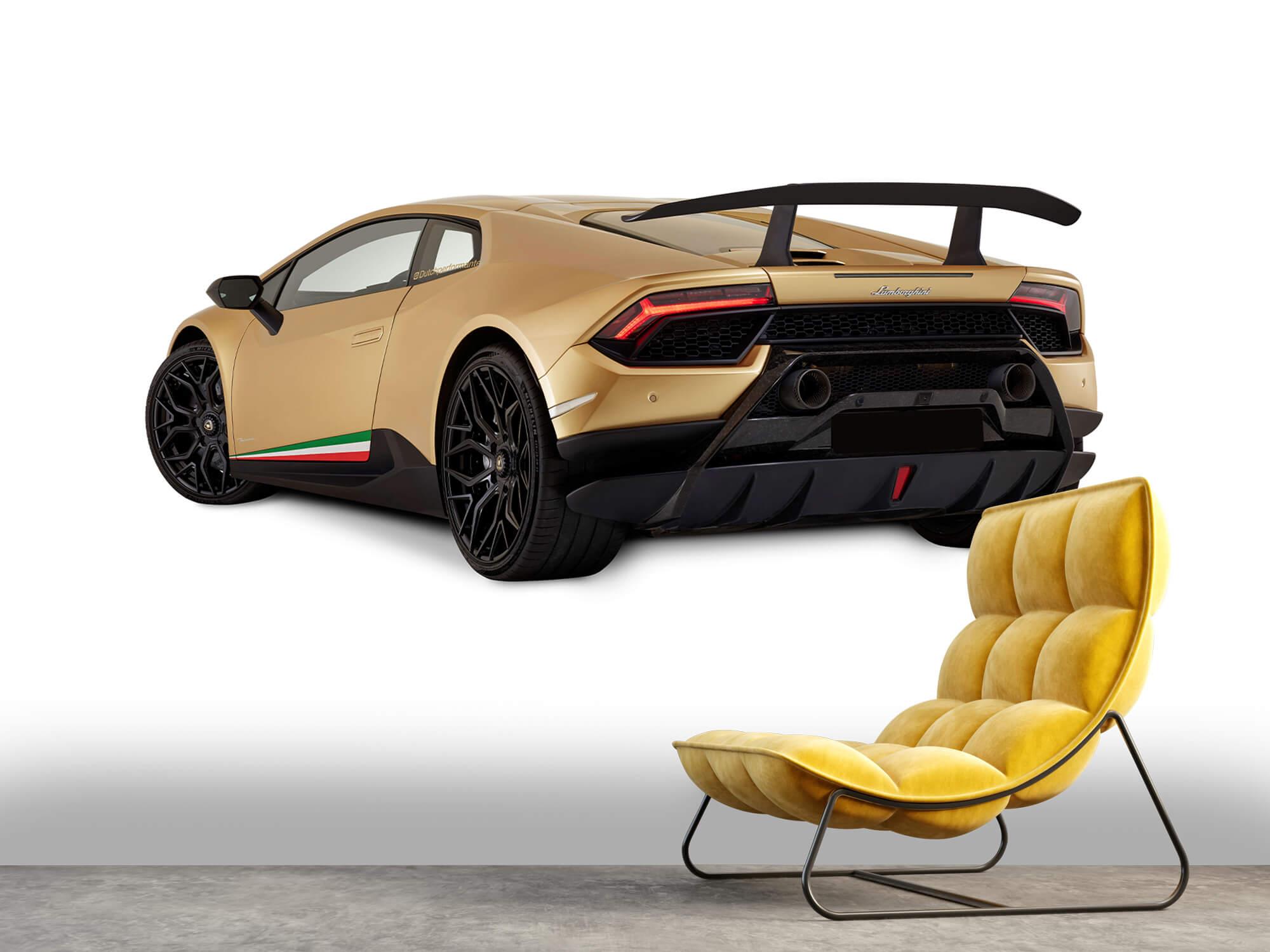 Wallpaper Lamborghini Huracán - Left Rear Side, white 11