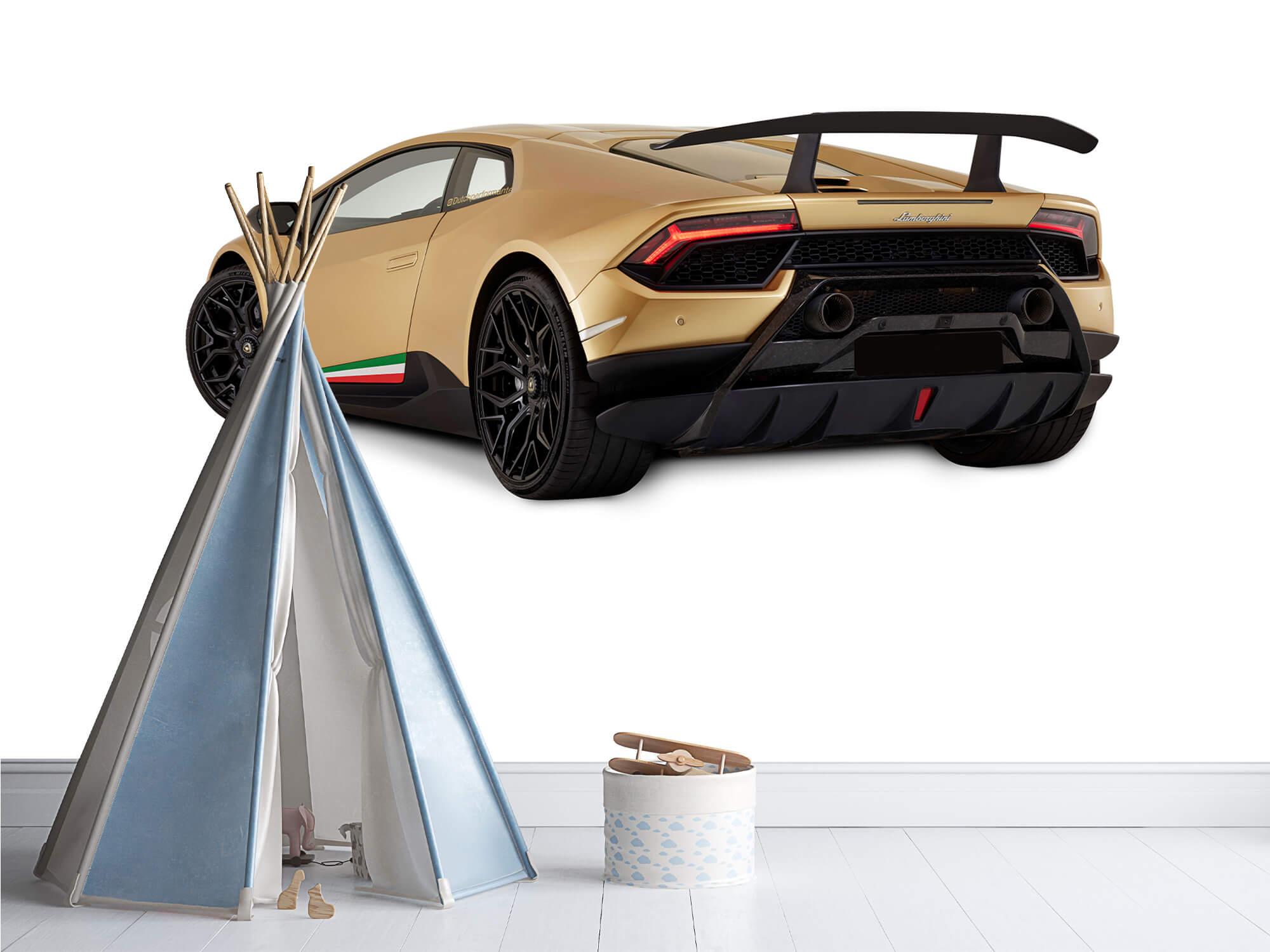 Wallpaper Lamborghini Huracán - Left Rear Side, white 12