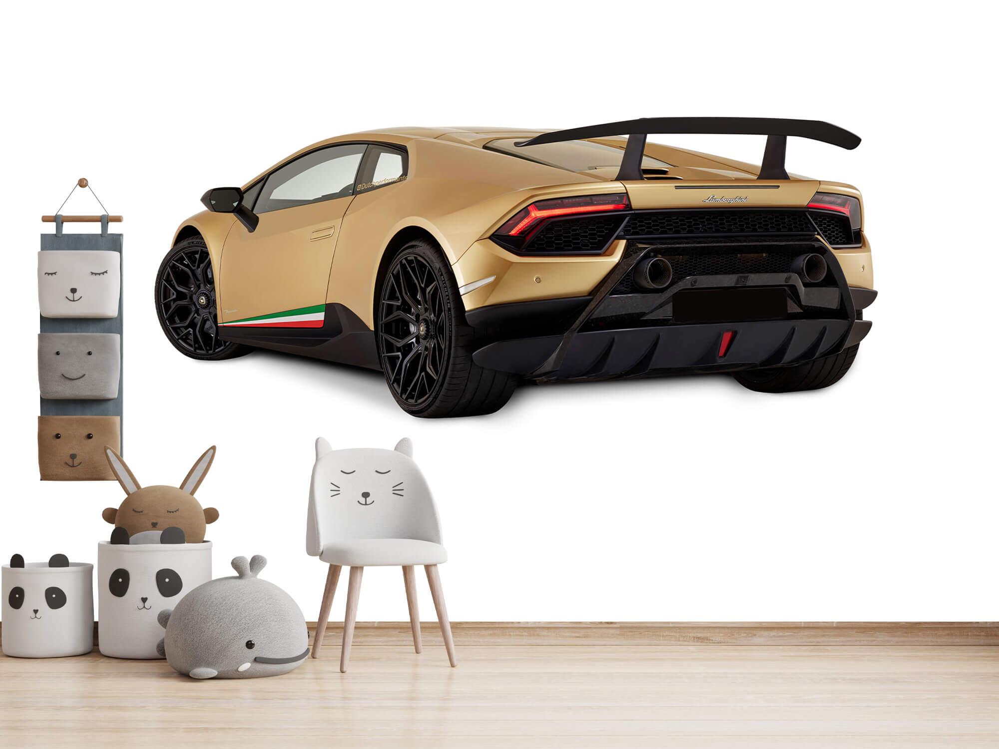 Wallpaper Lamborghini Huracán - Left Rear Side, white 14