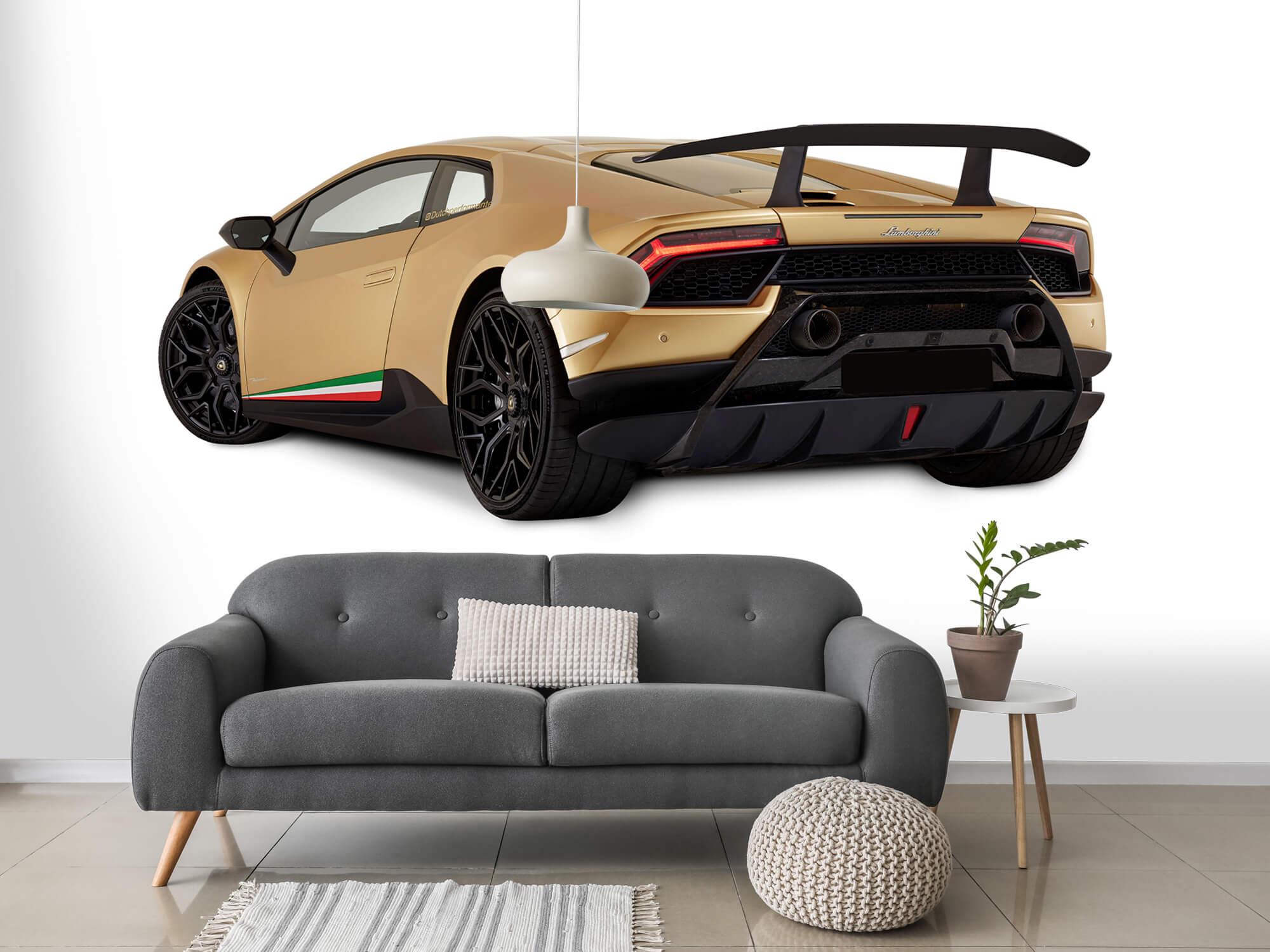 Wallpaper Lamborghini Huracán - Left Rear Side, white 15