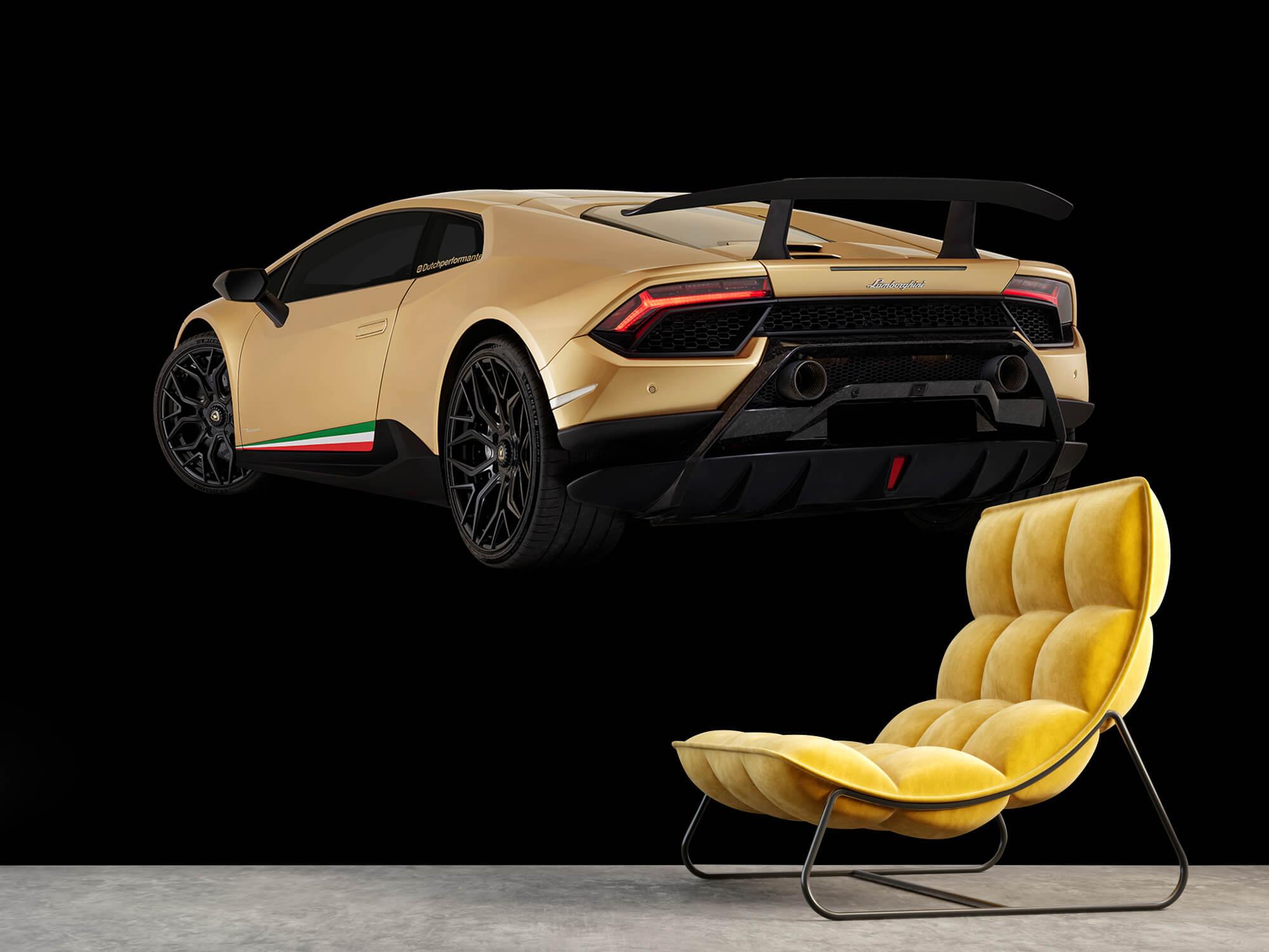 Wallpaper Lamborghini Huracán - Left Rear end, black 14