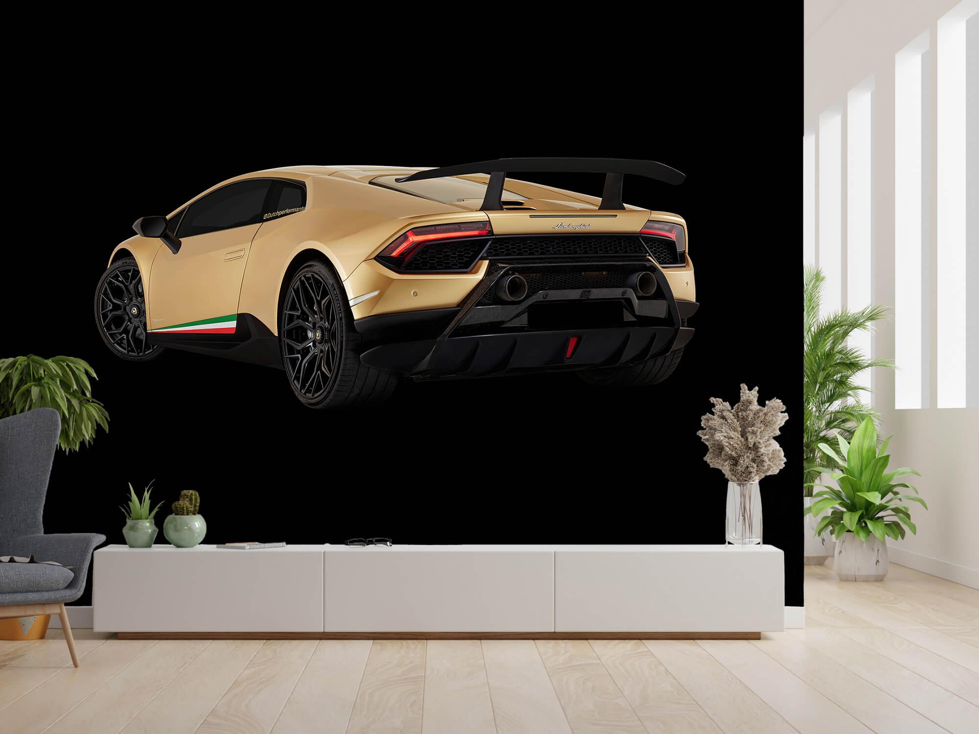 Wallpaper Lamborghini Huracán - Left Rear end, black 9