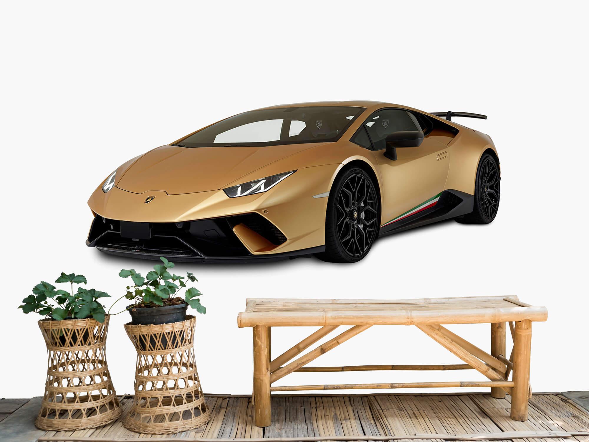 Wallpaper Lamborghini Huracán - Right Front, white 1