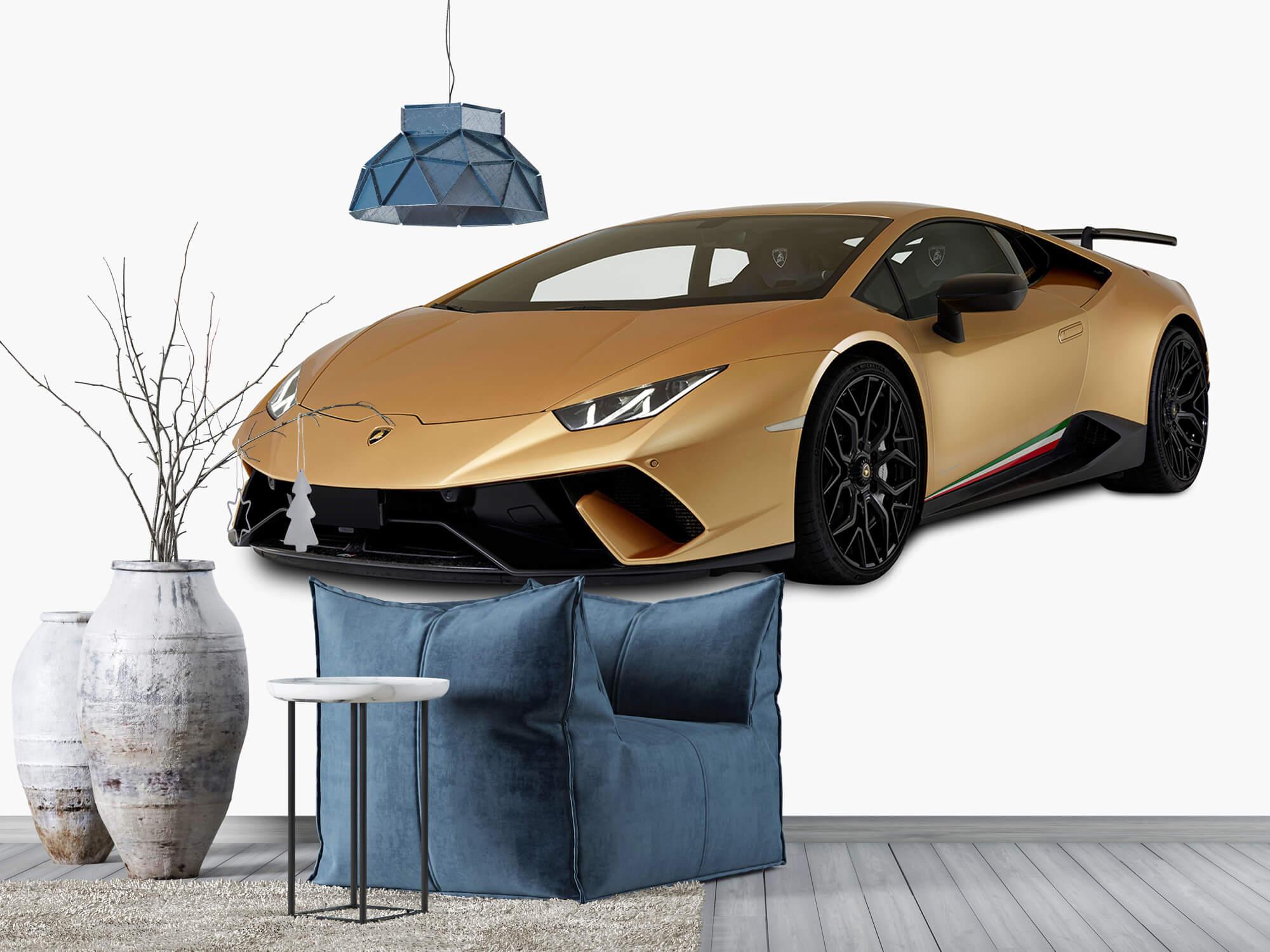 Wallpaper Lamborghini Huracán - Right Front, white 6