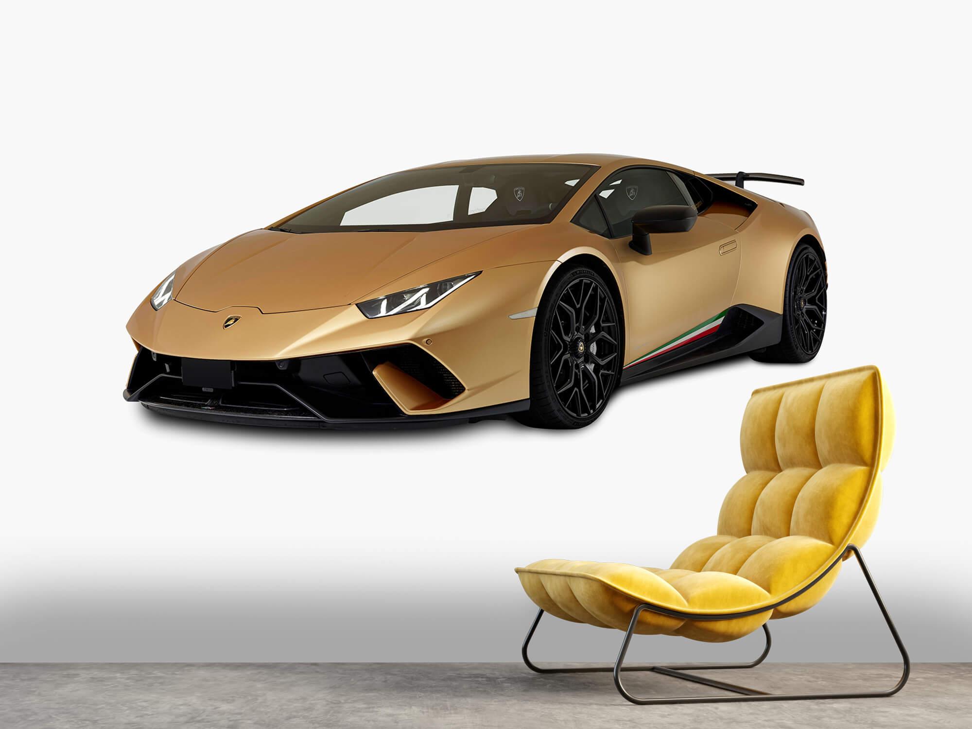 Wallpaper Lamborghini Huracán - Right Front, white 7