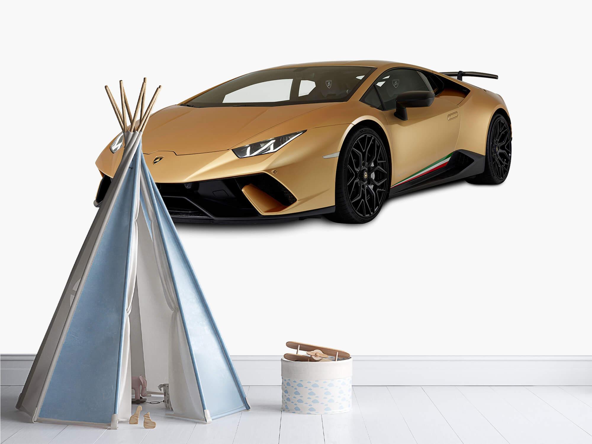 Wallpaper Lamborghini Huracán - Right Front, white 10