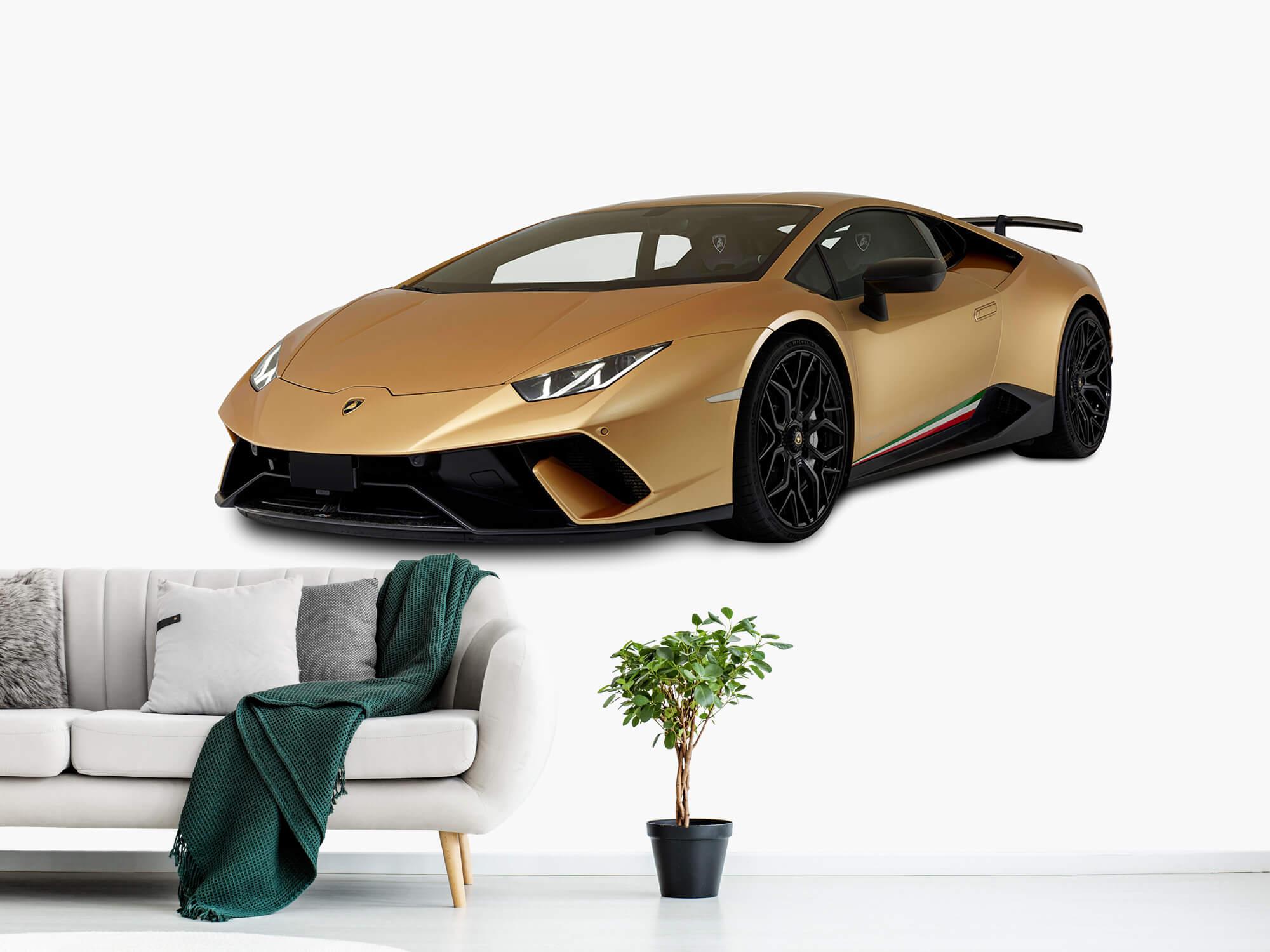 Wallpaper Lamborghini Huracán - Right Front, white 11