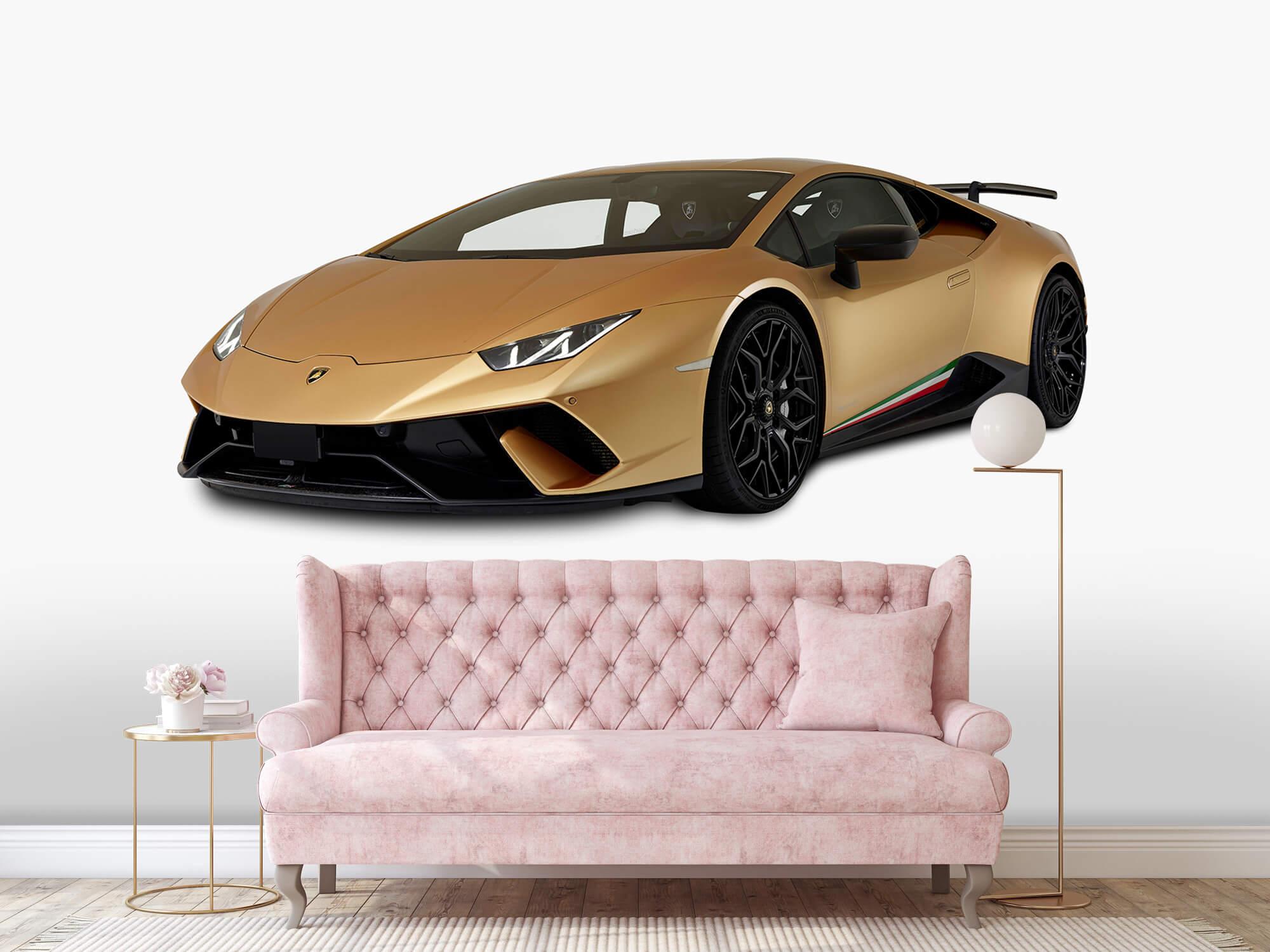 Wallpaper Lamborghini Huracán - Right Front, white 12