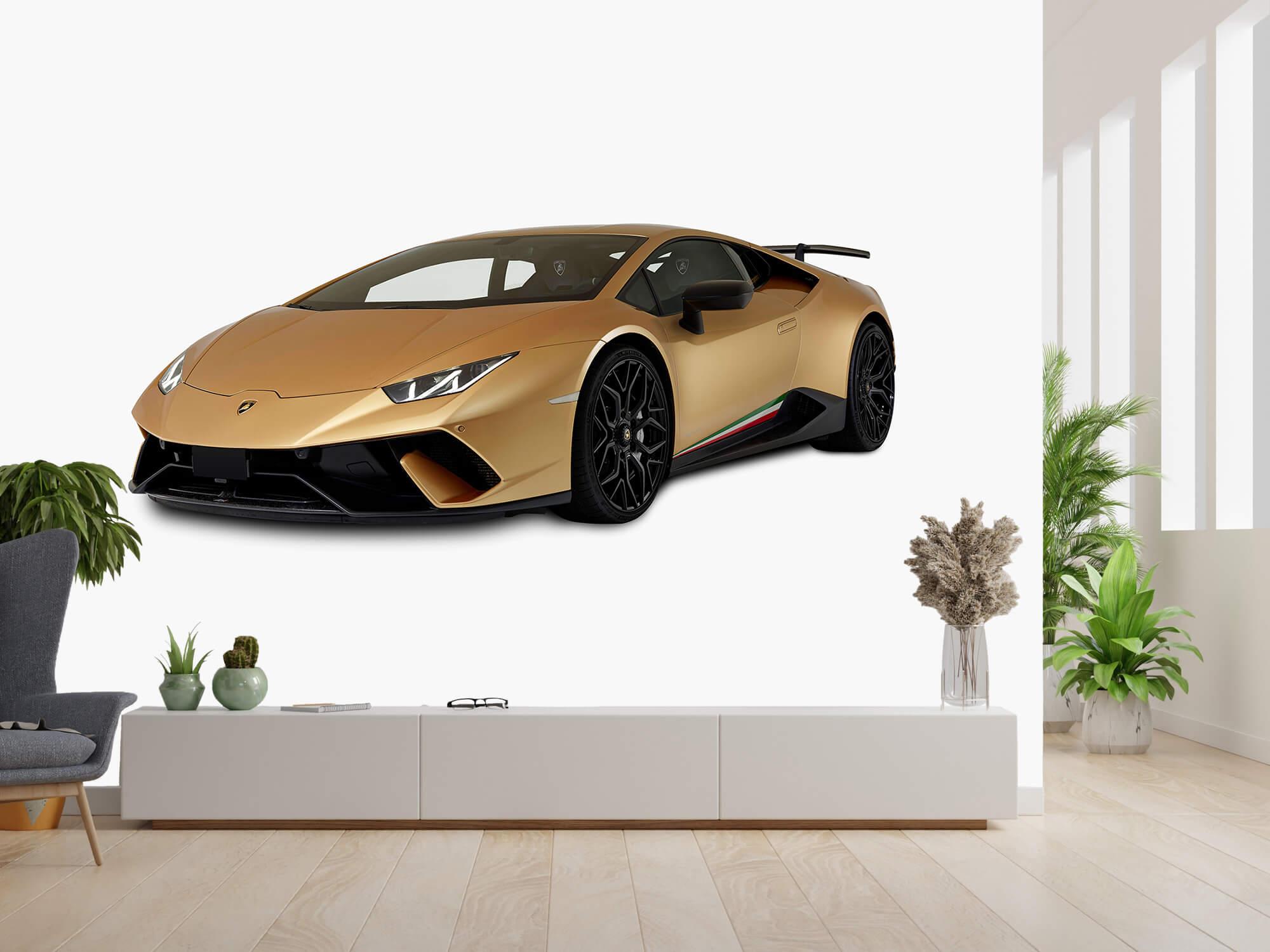 Wallpaper Lamborghini Huracán - Right Front, white 14