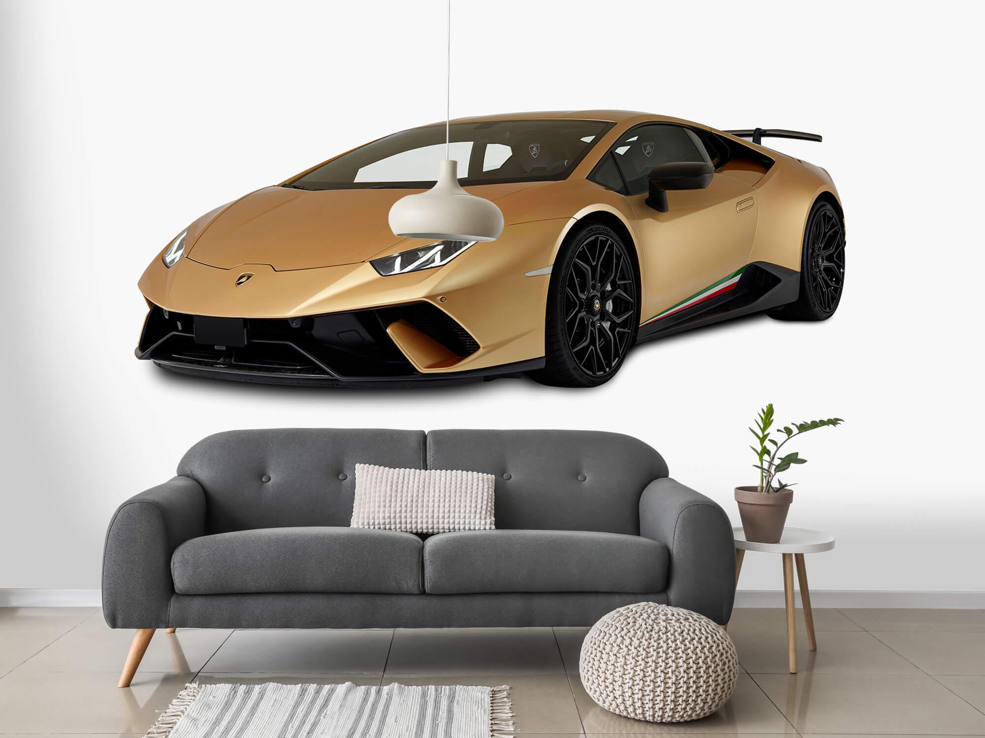 Wallpaper Lamborghini Huracán - Right Front, white 15