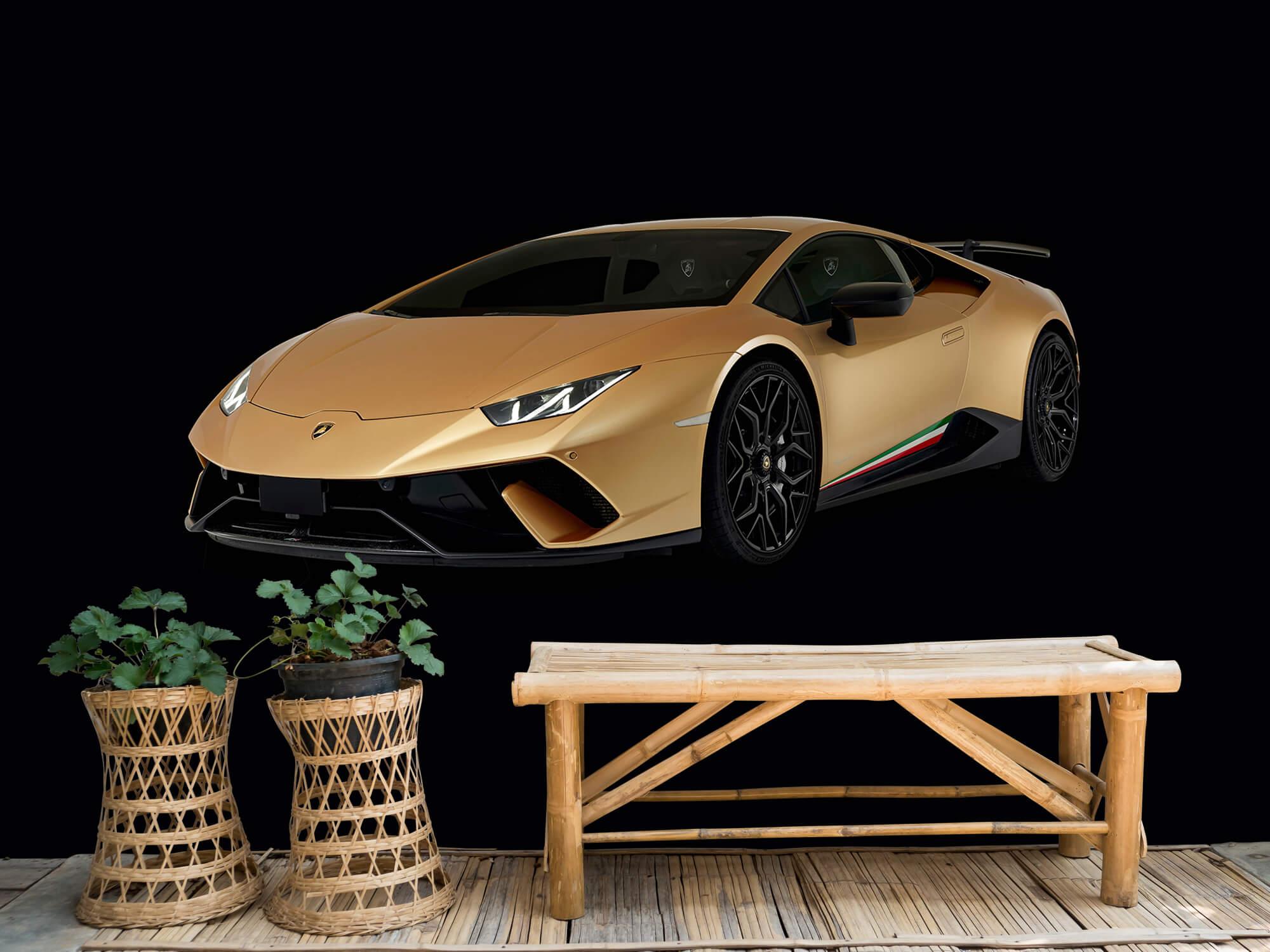 Wallpaper Lamborghini Huracán - Right Front, black 6