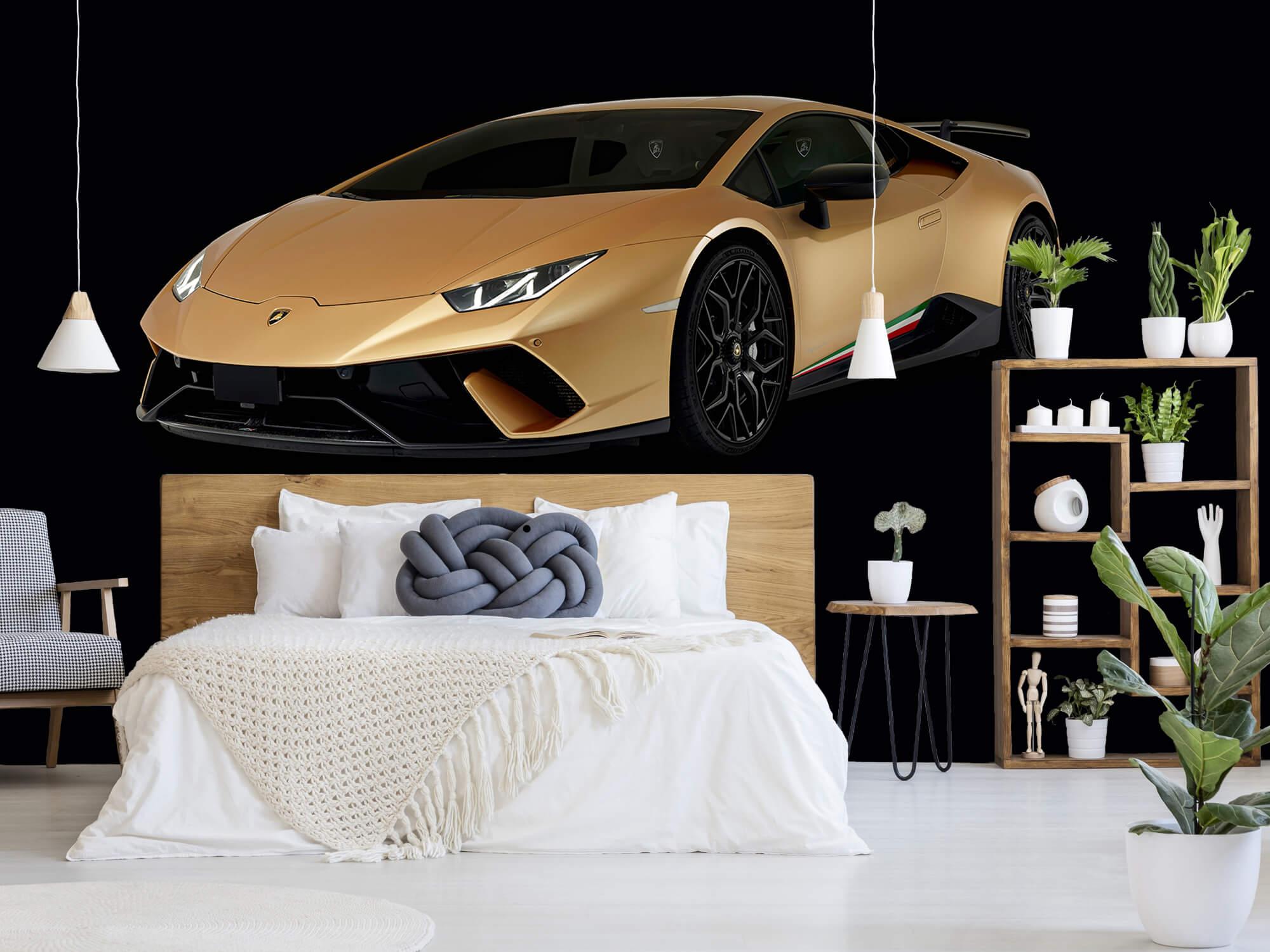 Wallpaper Lamborghini Huracán - Right Front, black 7