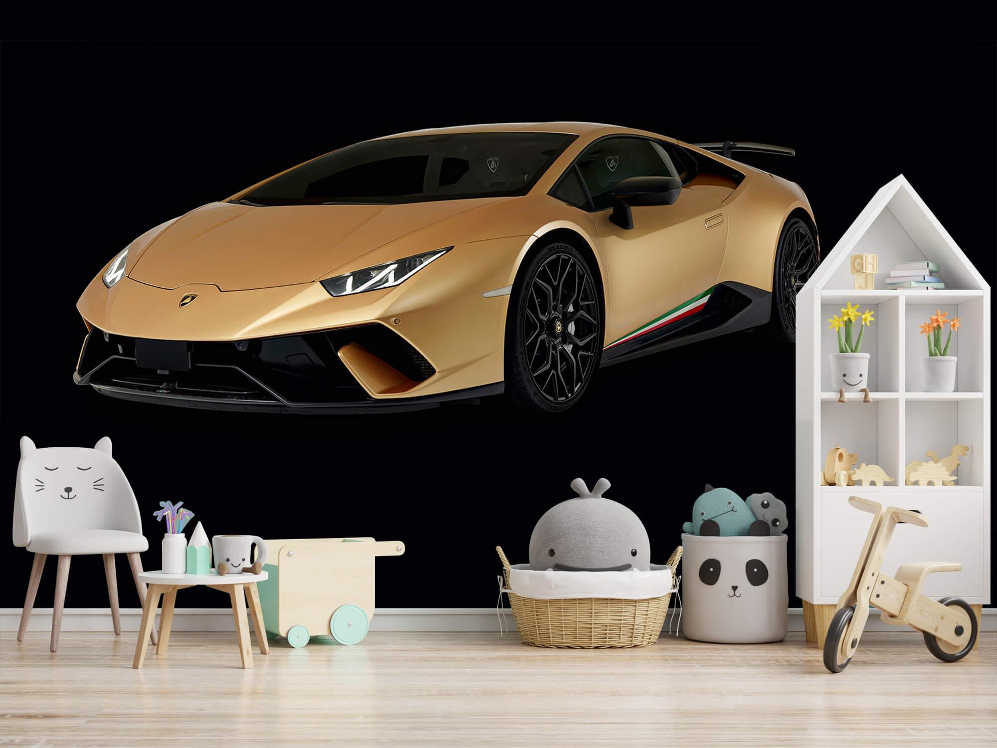 Wallpaper Lamborghini Huracán - Right Front, black 2