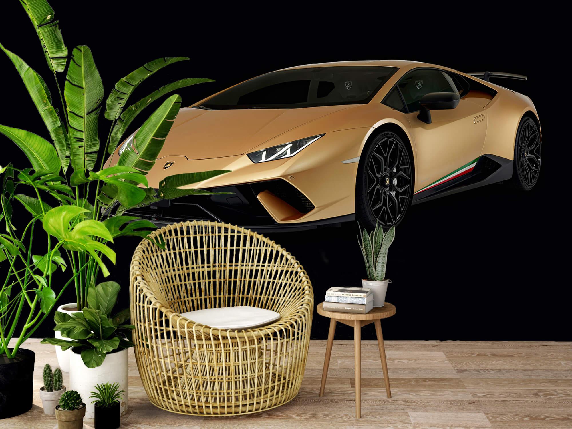 Wallpaper Lamborghini Huracán - Right Front, black 8