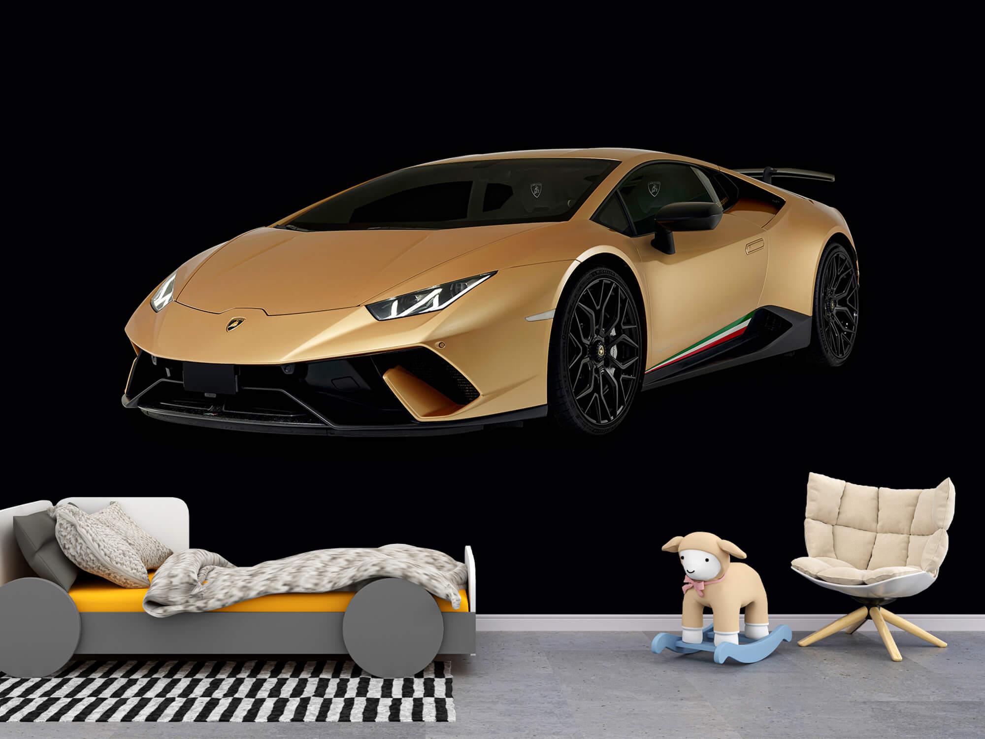 Wallpaper Lamborghini Huracán - Right Front, black 9