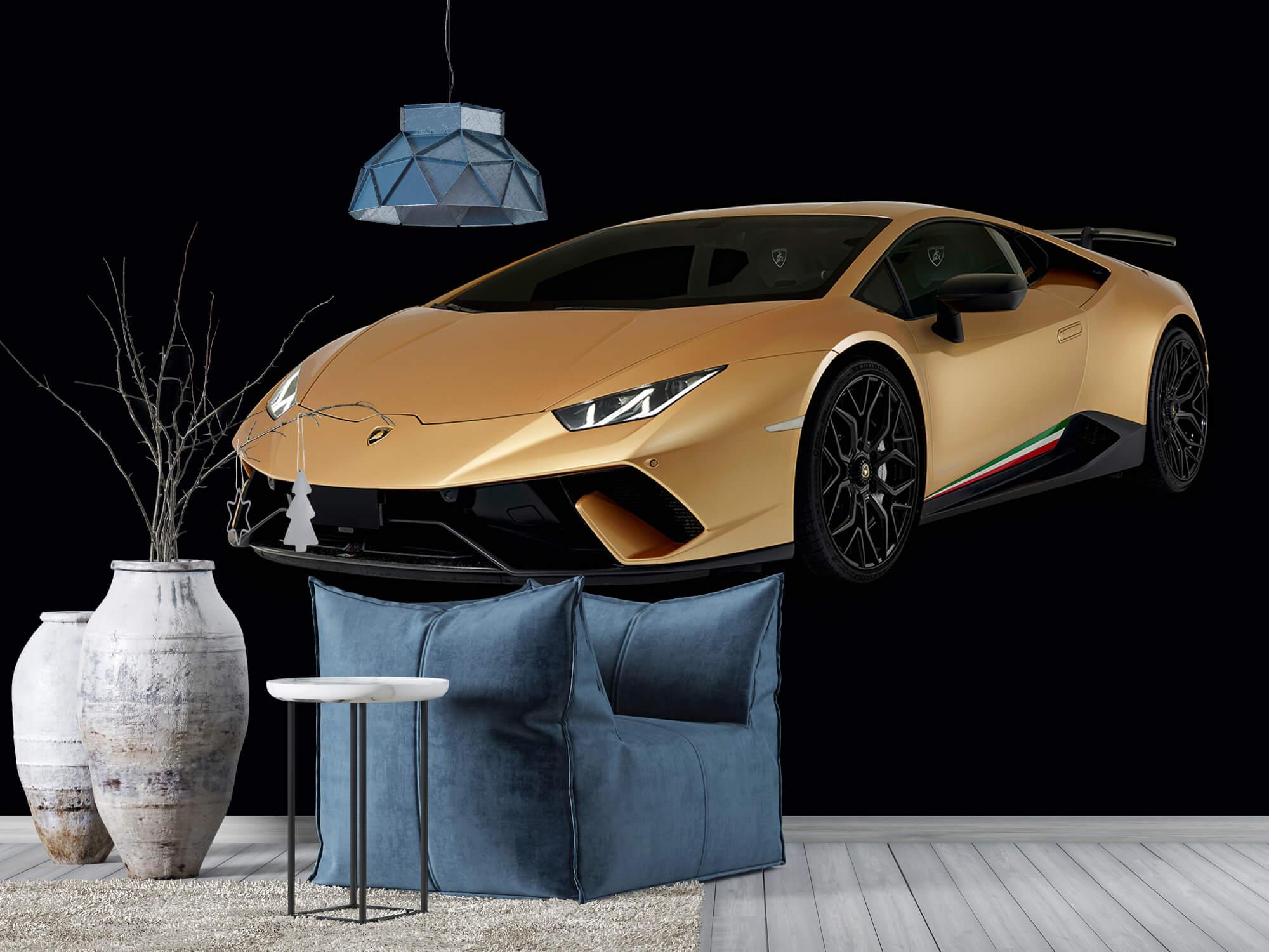 Wallpaper Lamborghini Huracán - Right Front, black 10